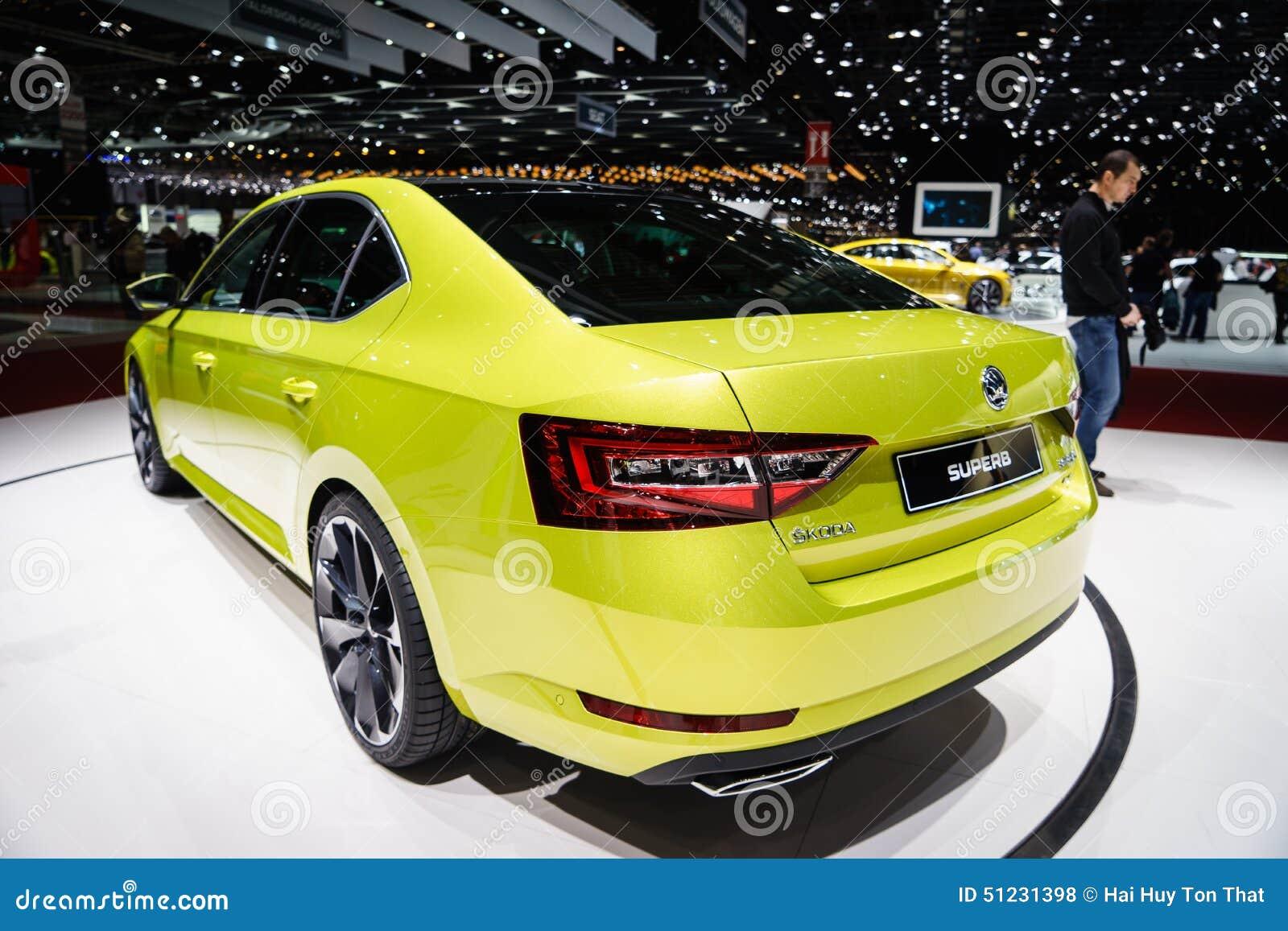 Skoda magnífico, salón del automóvil Geneve 2015