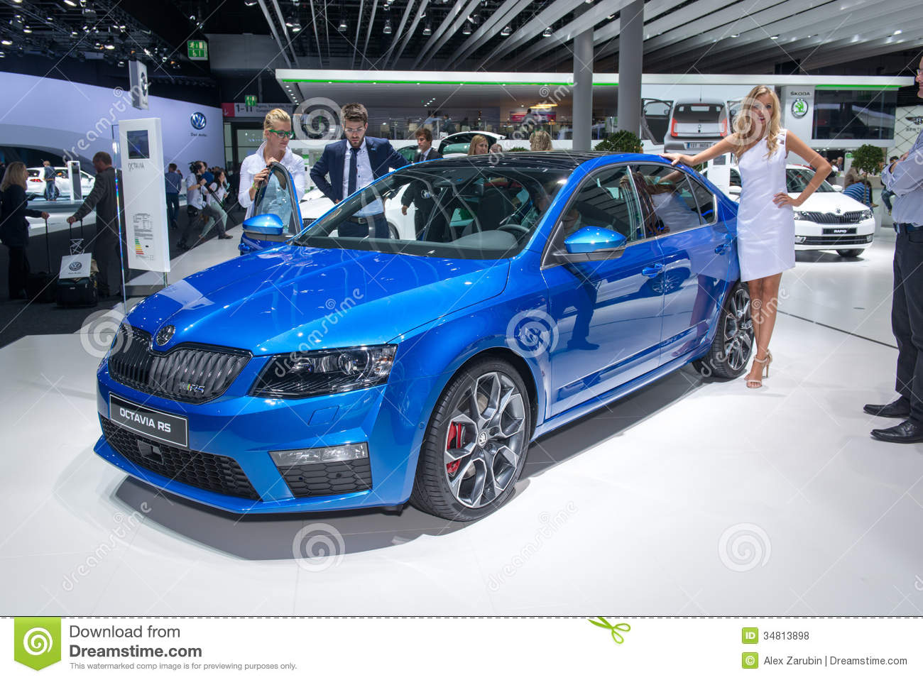 Skoda octavia rs editorial stock photo image of drive for 3rd international salon of photography smederevo 2013