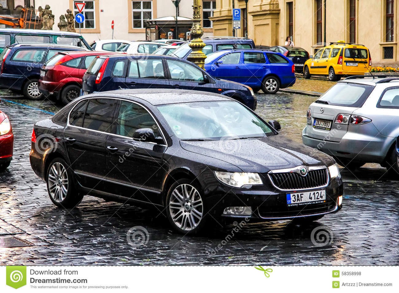 Skoda superb editorial image 49878036 Motor city car sales