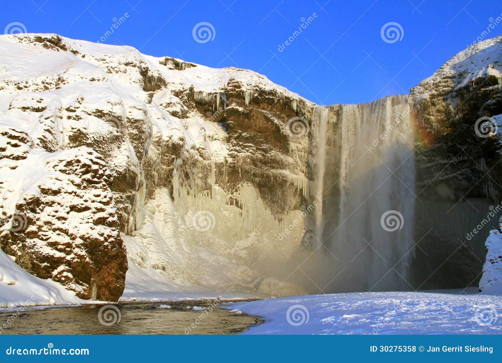 Skogafoss瀑布