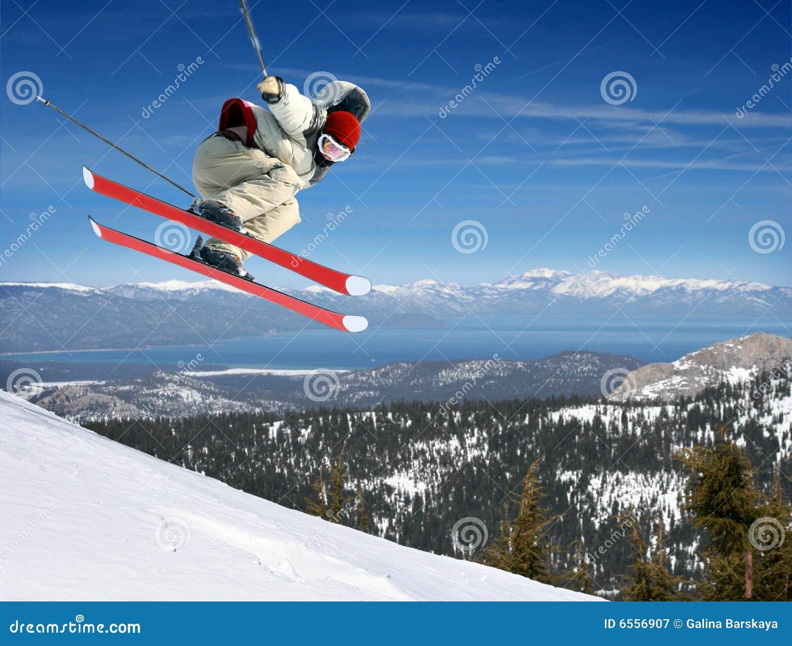 Skokowa narciarka