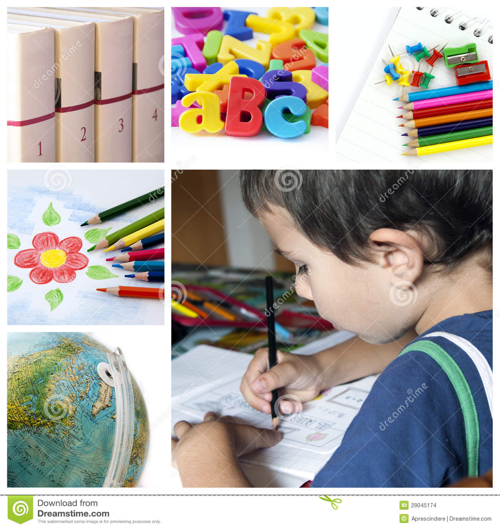 Skola collage