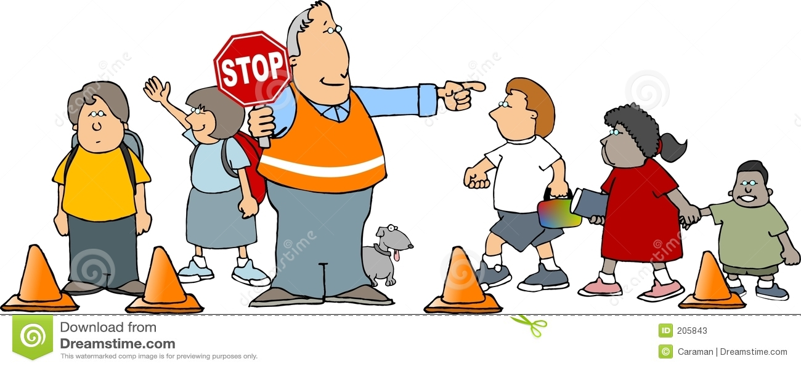 Skola för crossingguard