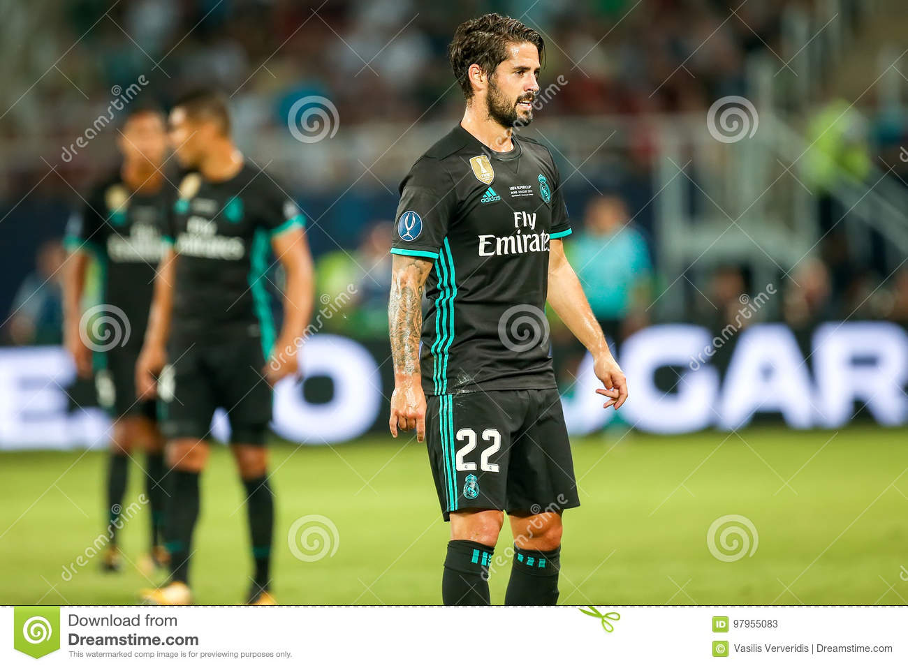 2e6d4a0c1a9 REAL MADRID V MANCHESTER UNITED  UEFA SUPER CUP Editorial Stock ...