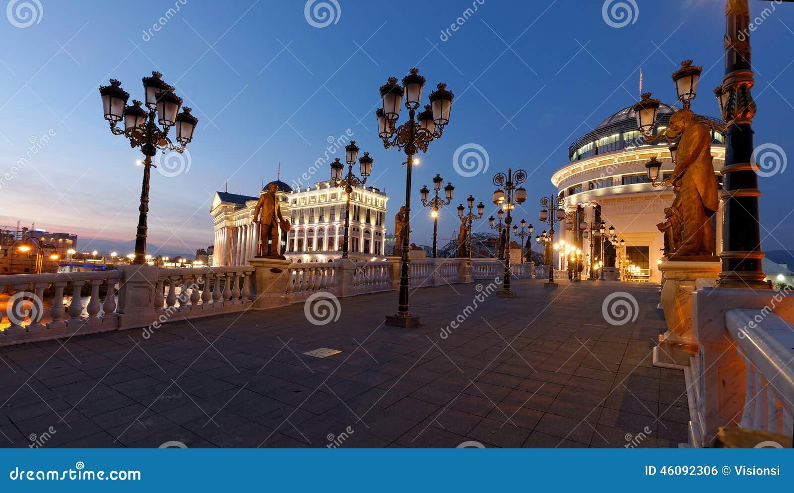 Skopje im Stadtzentrum gelegen