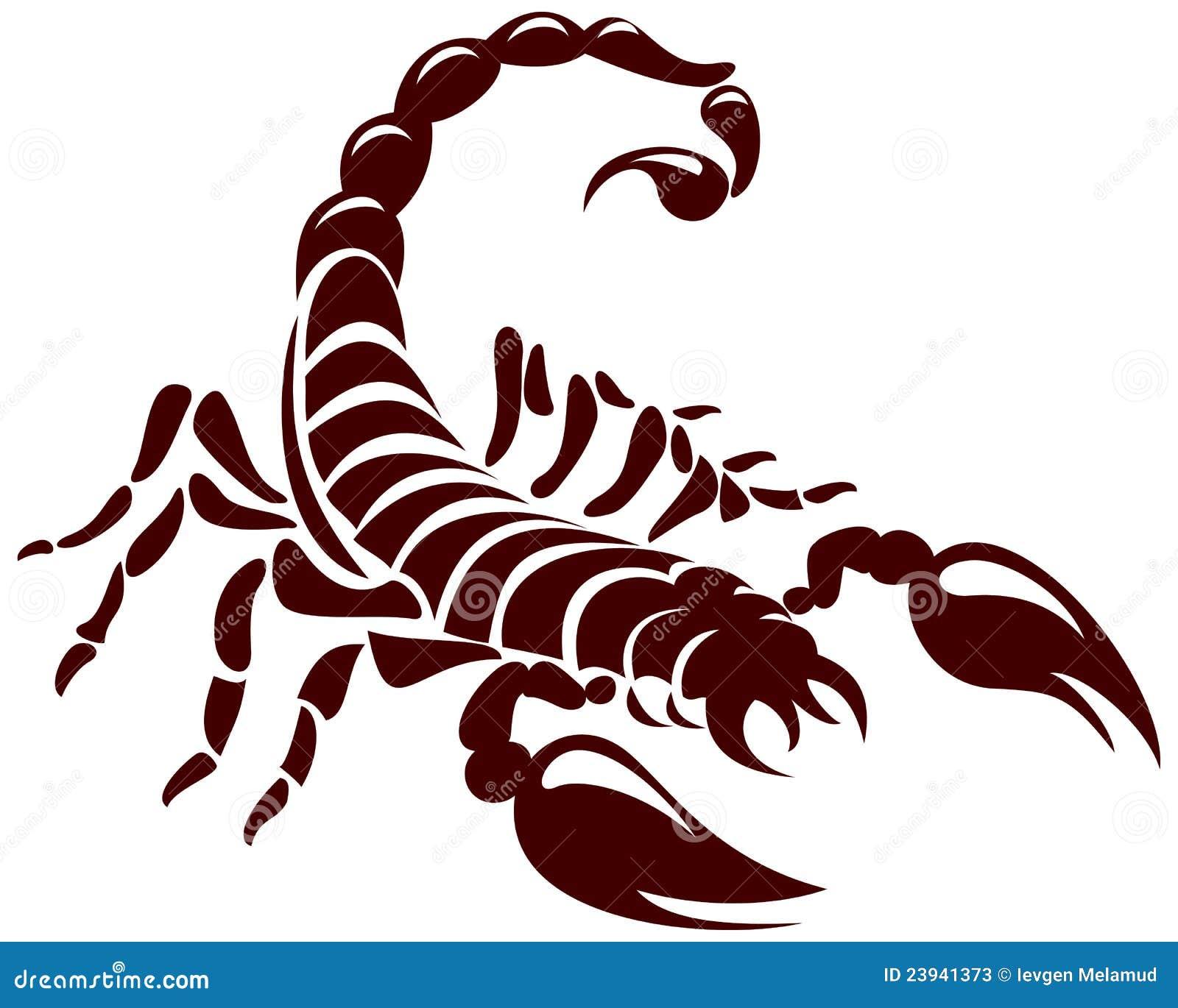 Scorpio M Tattoo Designs