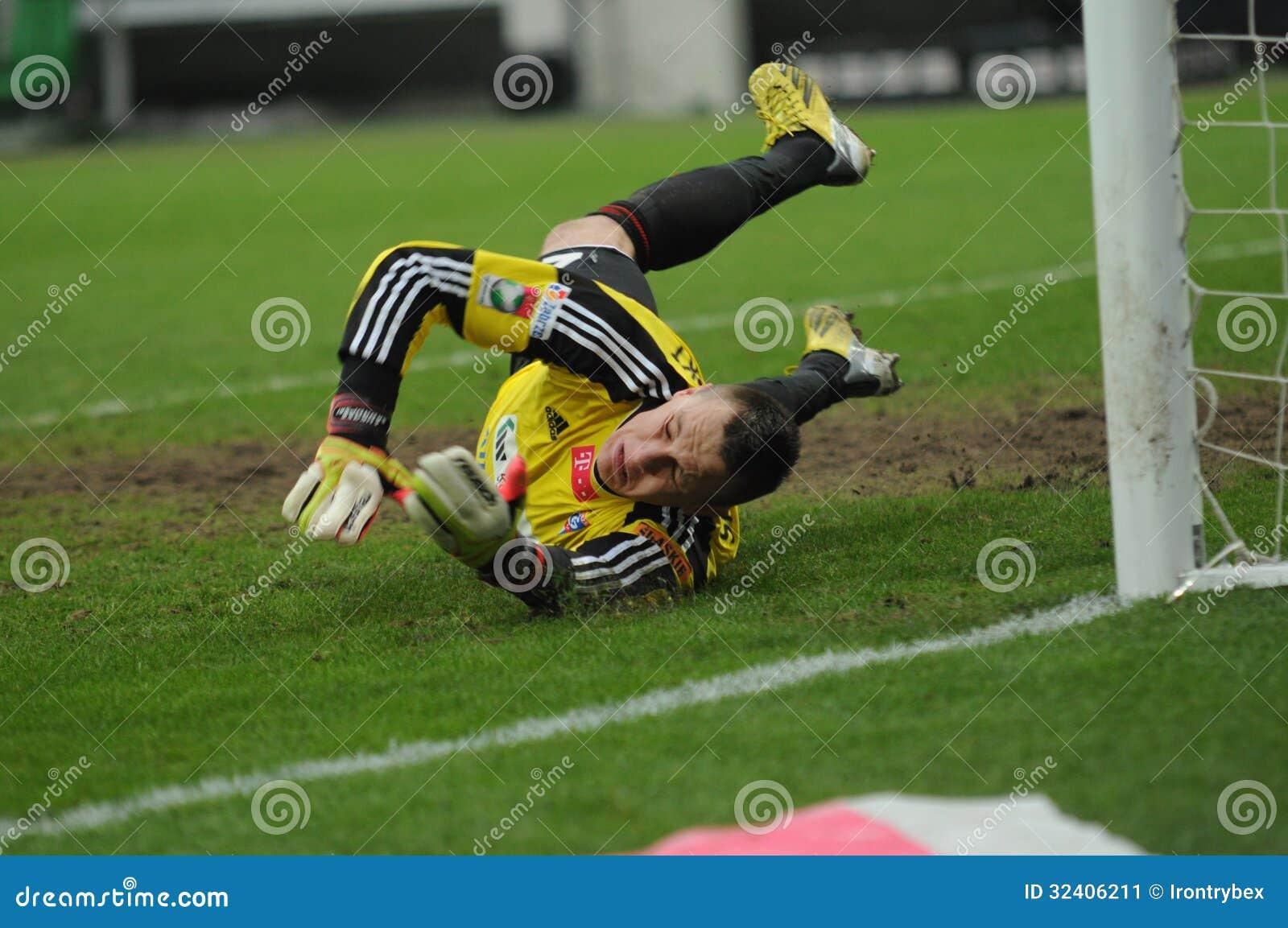 Gornik Zabrze: Skorupski, New Player Of AS Rome Editorial Photo