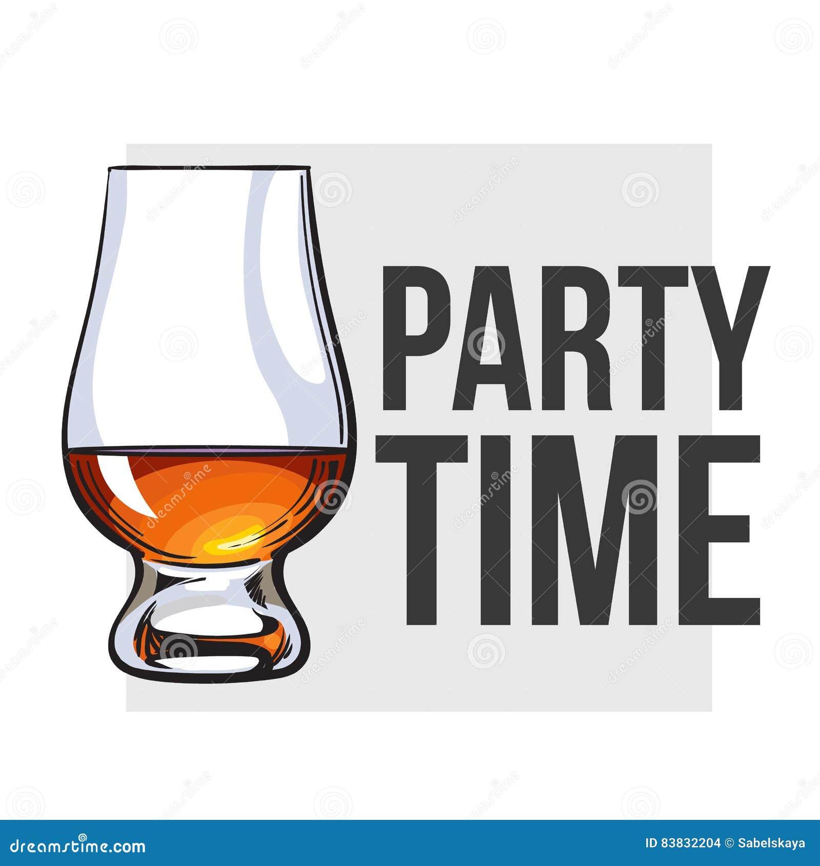 Skotsk whisky rom, konjaktrappnosexponeringsglas