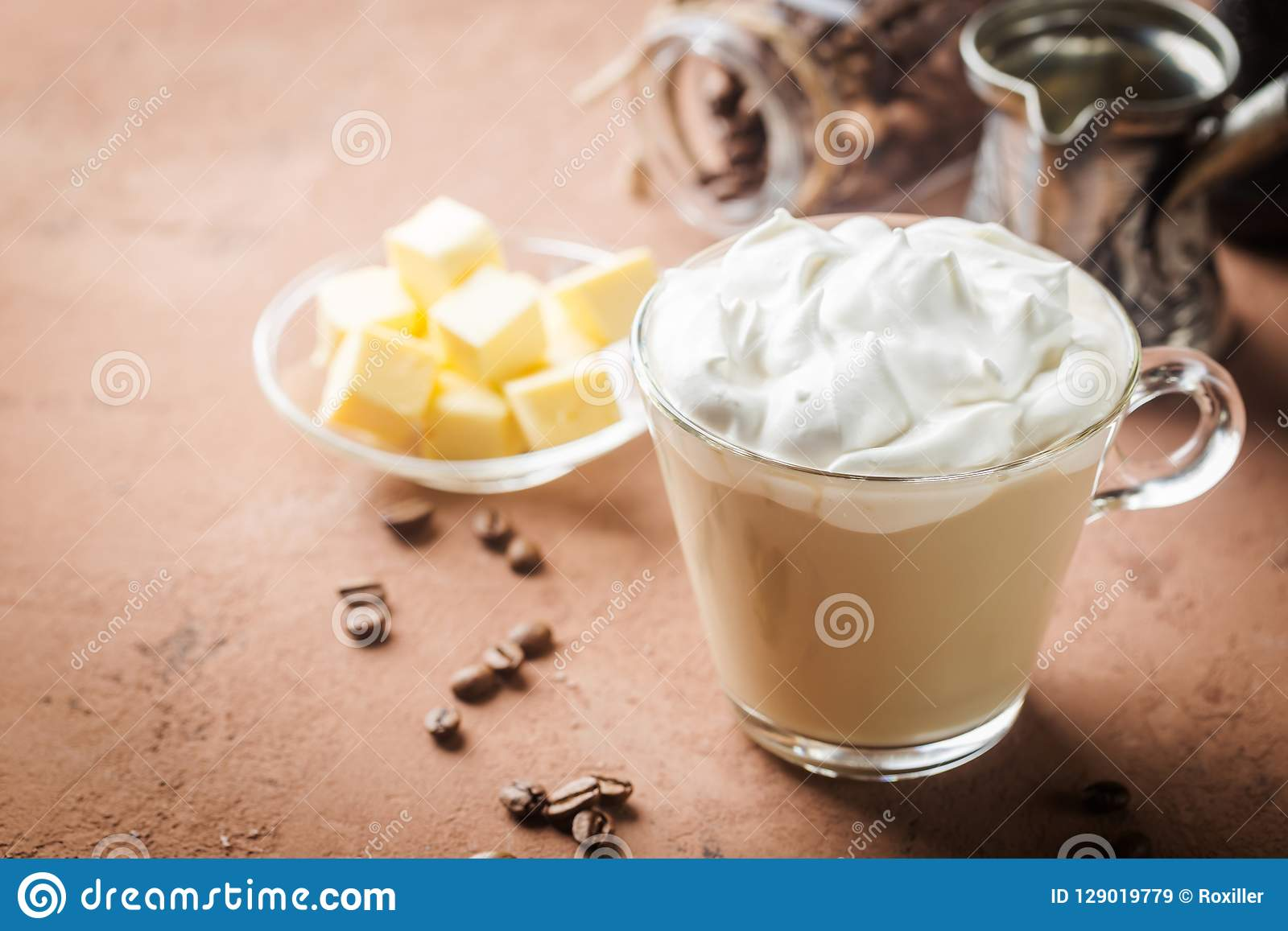 Skottsäkert kaffe, keto-frukost