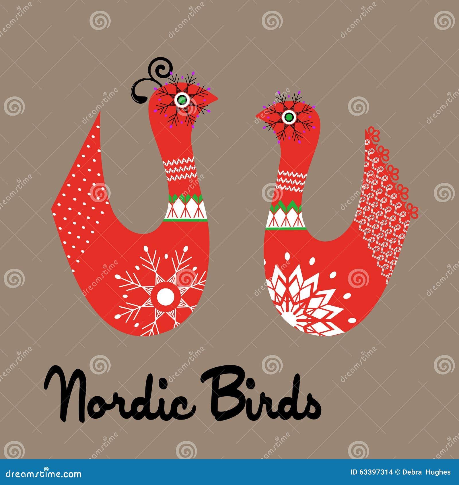 Skraj nordiska fåglar