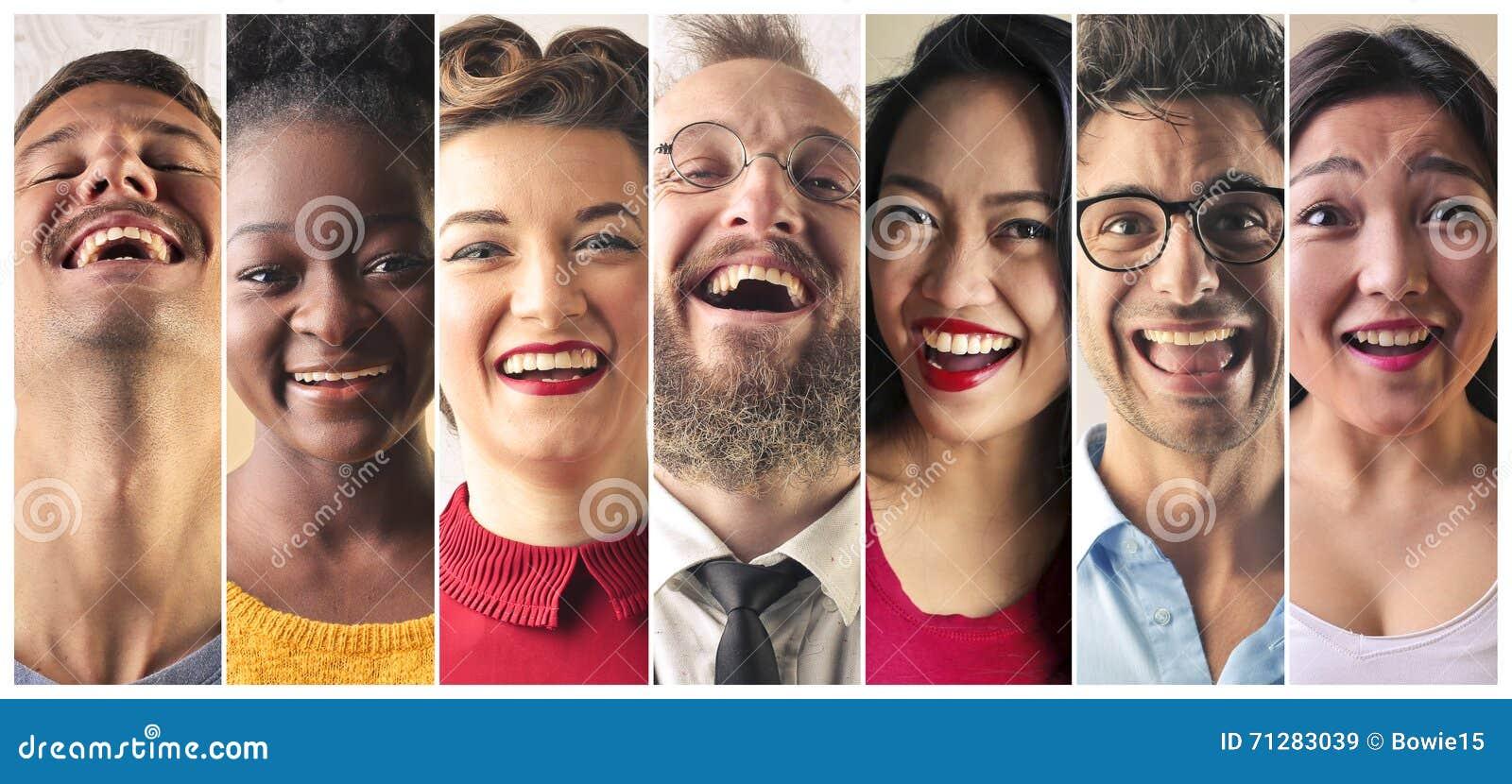 Skratta för folk