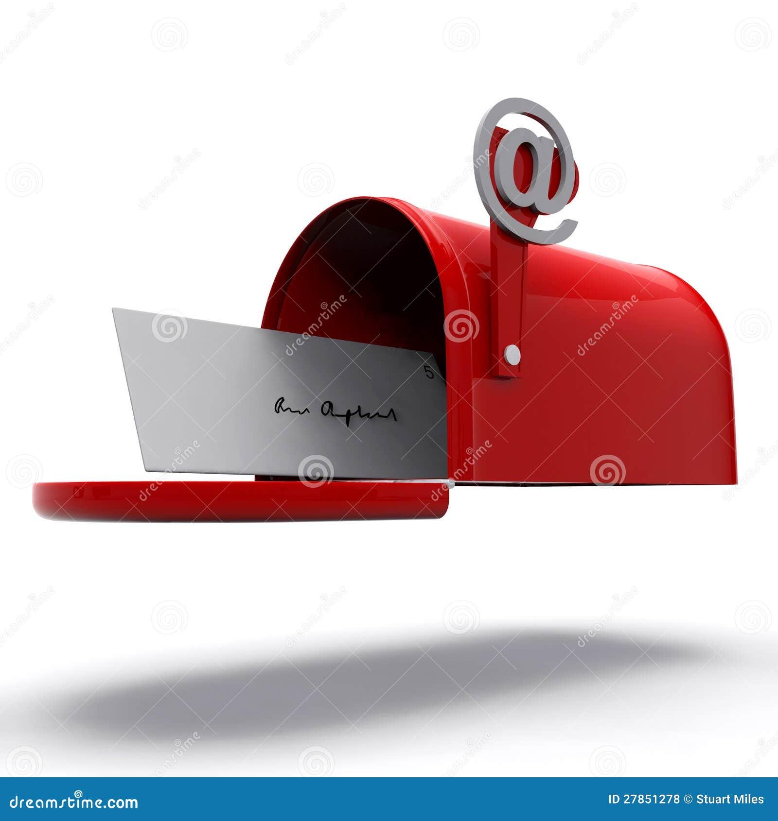 Skrzynka Pocztowa Pokazywać E-mailową Korespondencję