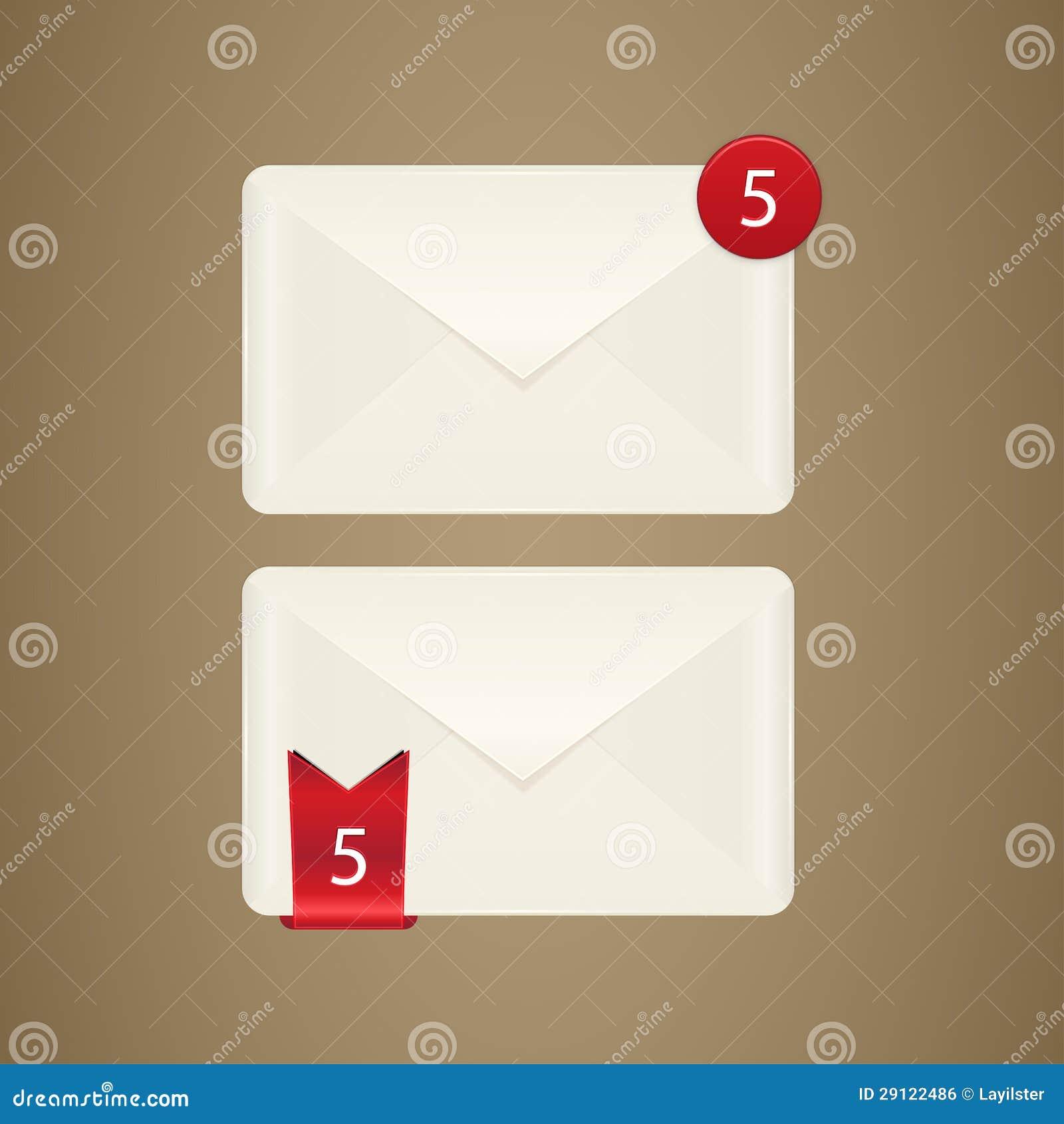 Skrzynki pocztowa ikona