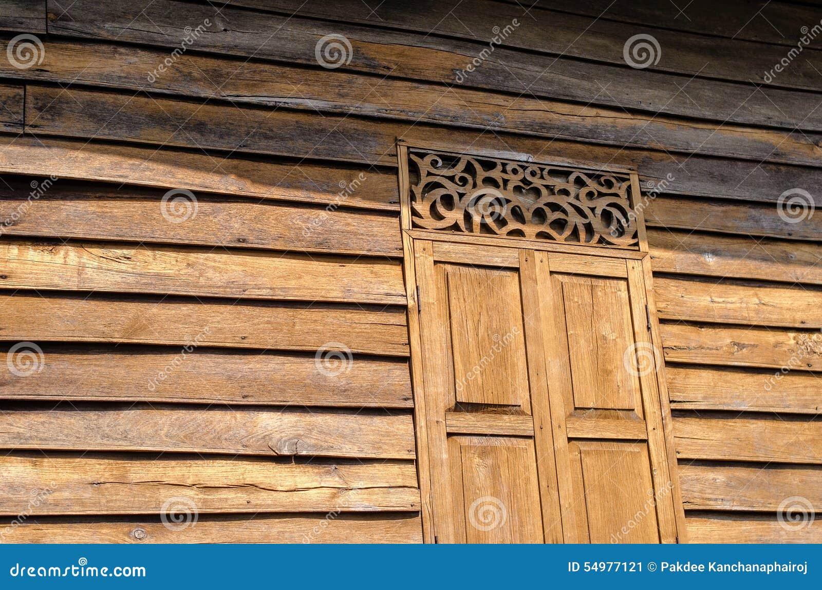 Skugga för sol för guld- vägg för teakträ för stencilfönster wood