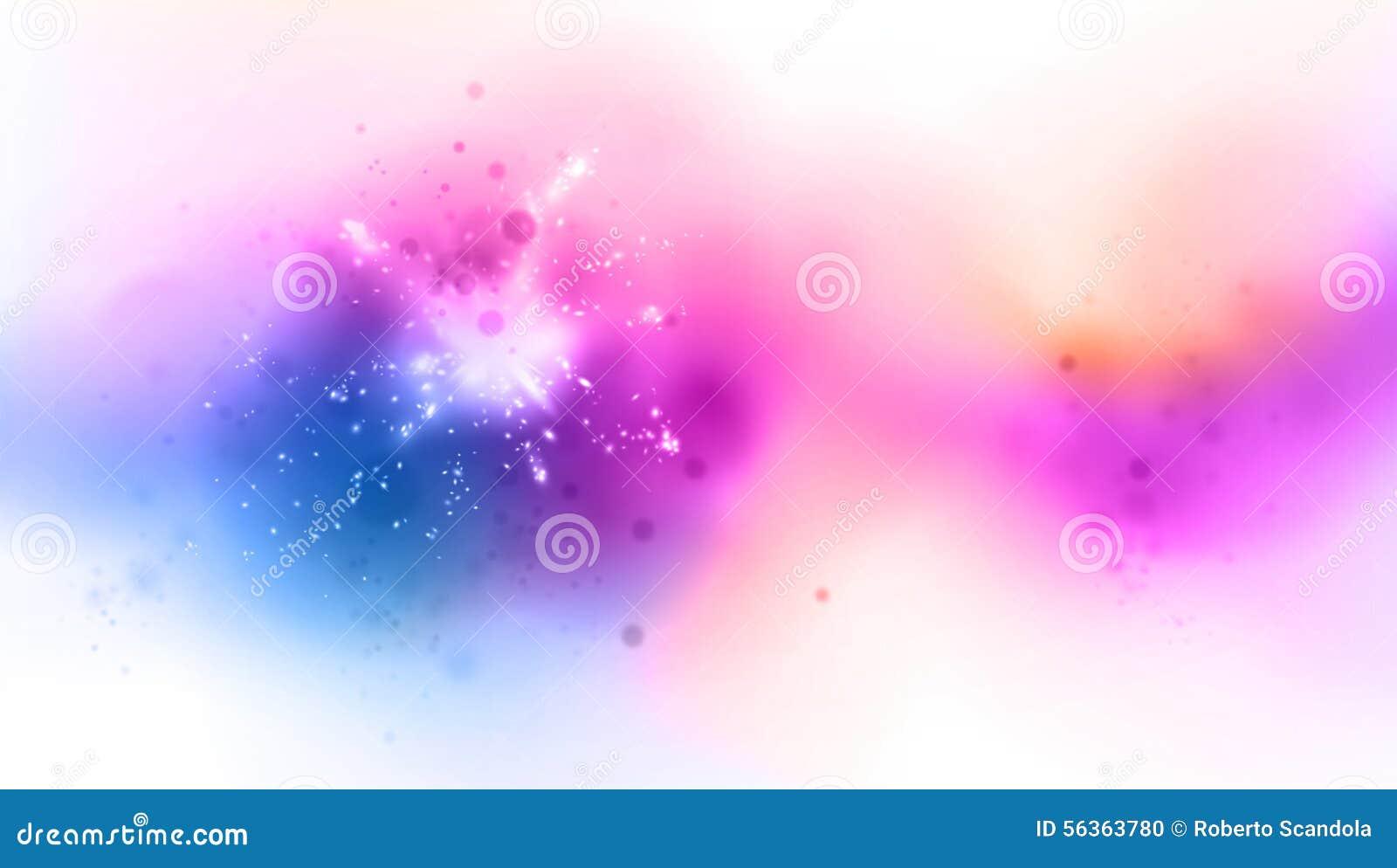 Skuggad färgbakgrund med ljusa effekter