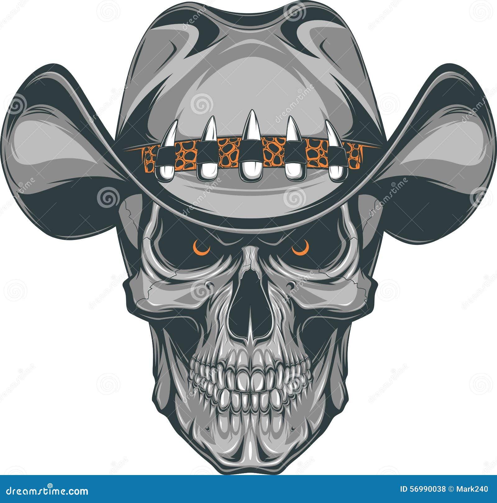 137a2a99869 Skull Cowboy Stock Illustrations – 1