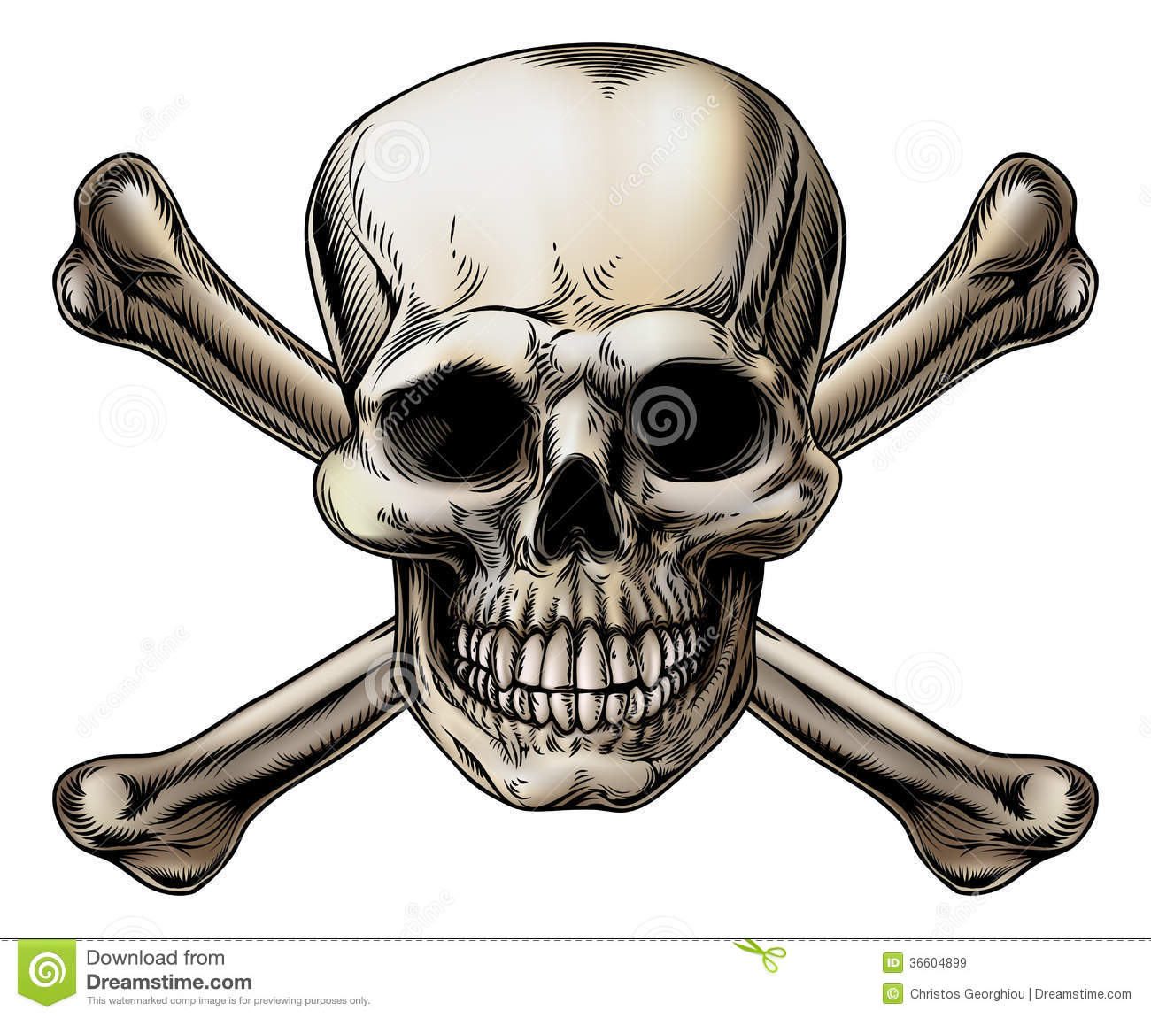 Skull And Crossbones Icon Royalty Free Stock Images Image 36604899
