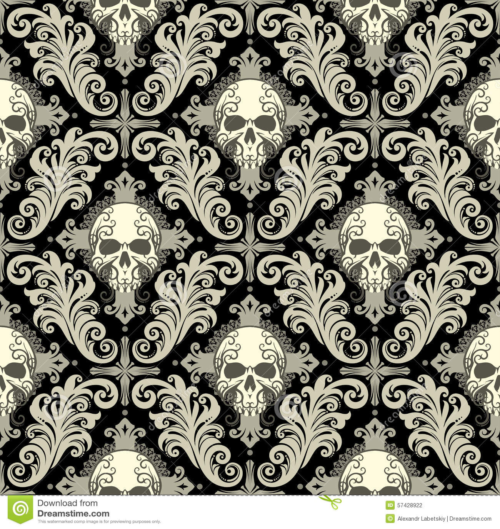 skull tribal wallpaper