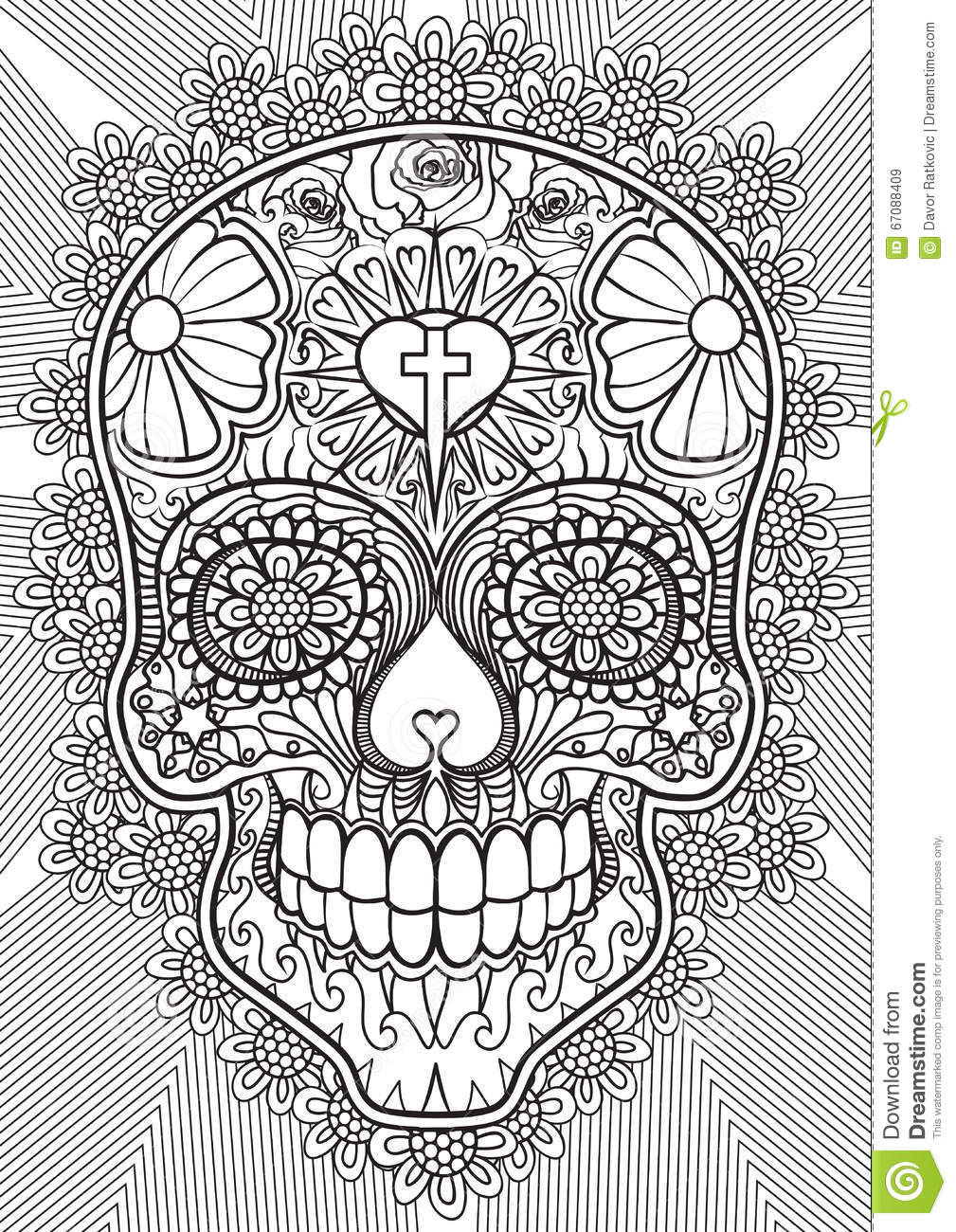 Skull - Day of the dead