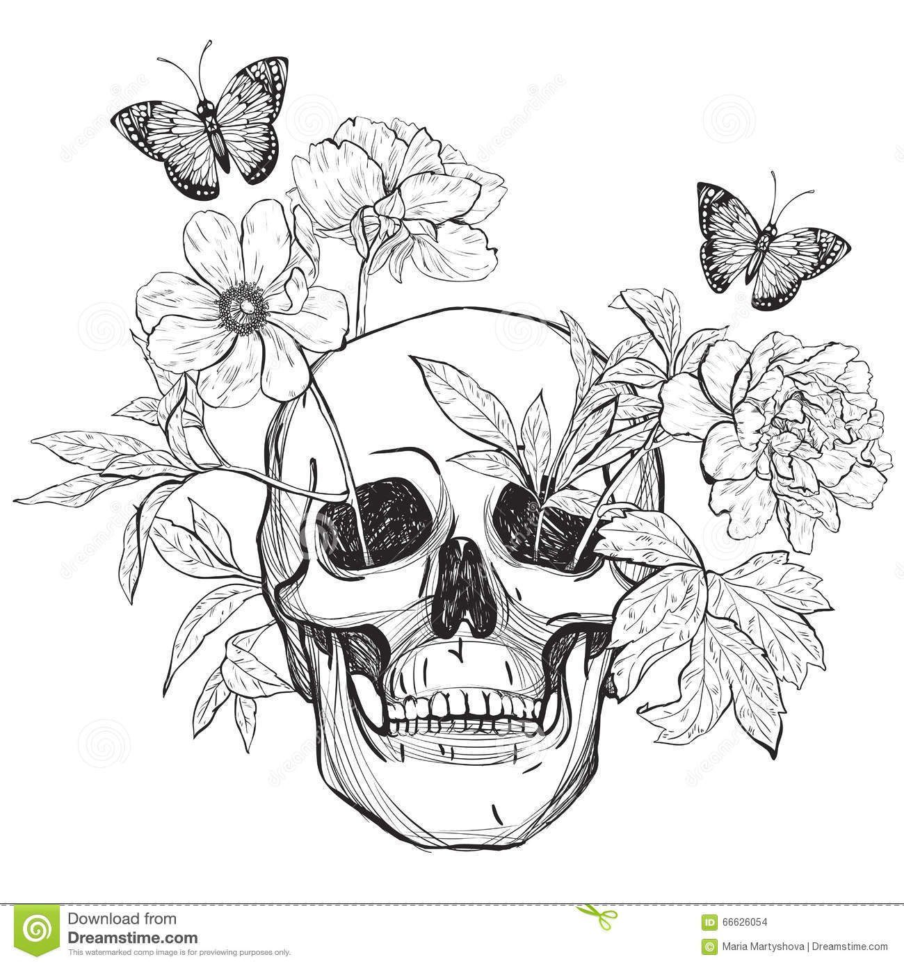 Vector Illustration Floral Pictures To Pin On Pinterest