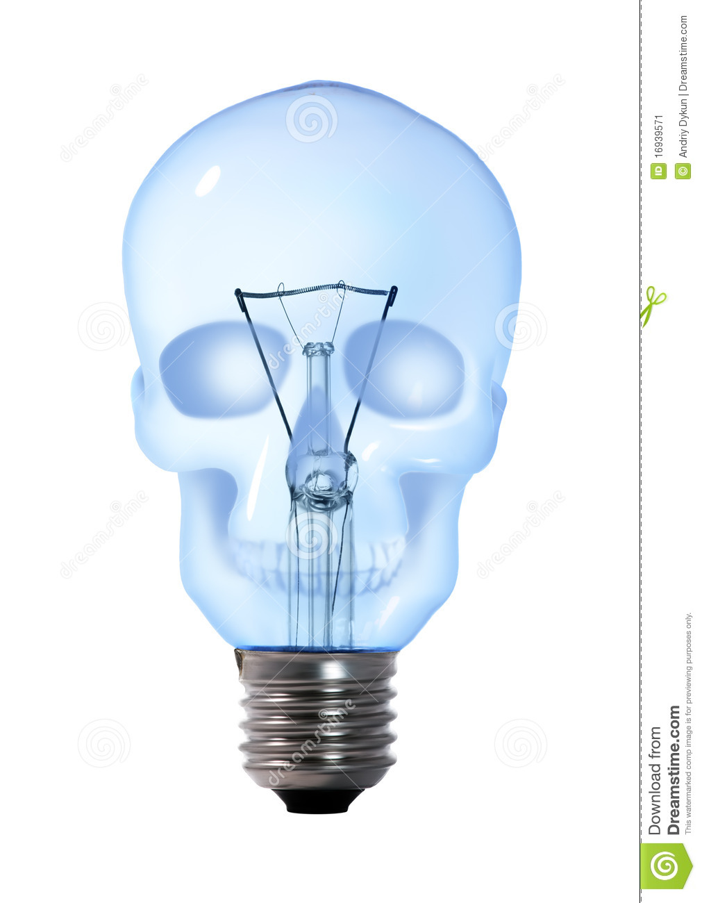 More similar stock images of ` Skull light bulb lamp `