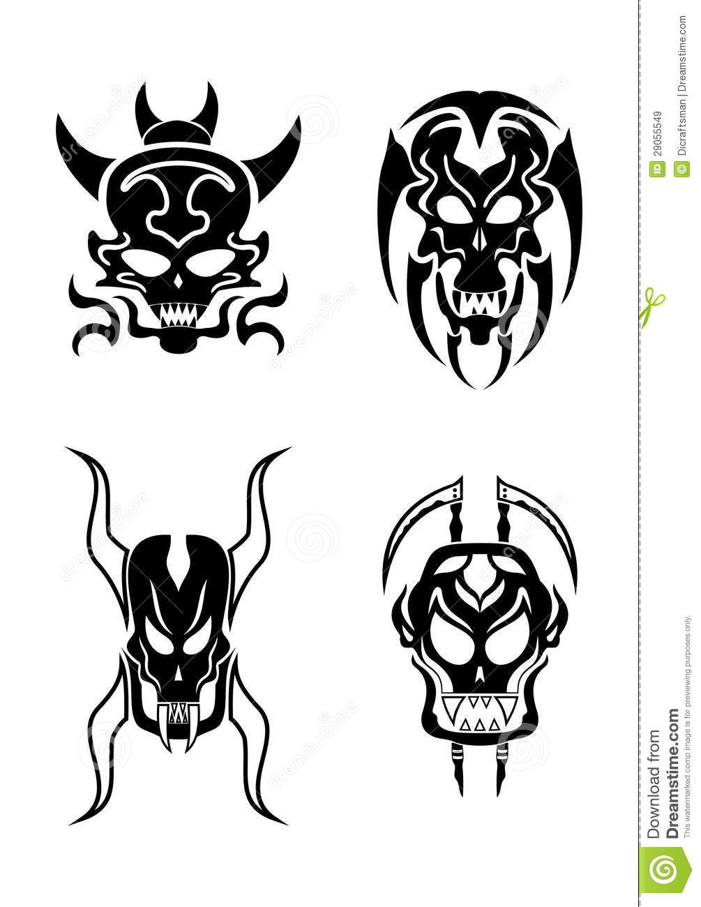 How To Draw Batman besides Happy Ghost Template in addition Demon Sketches additionally How To Draw A Cool Devil Head in addition Zodiac Signs Illustrations Andreas Preis. on scary face symbols