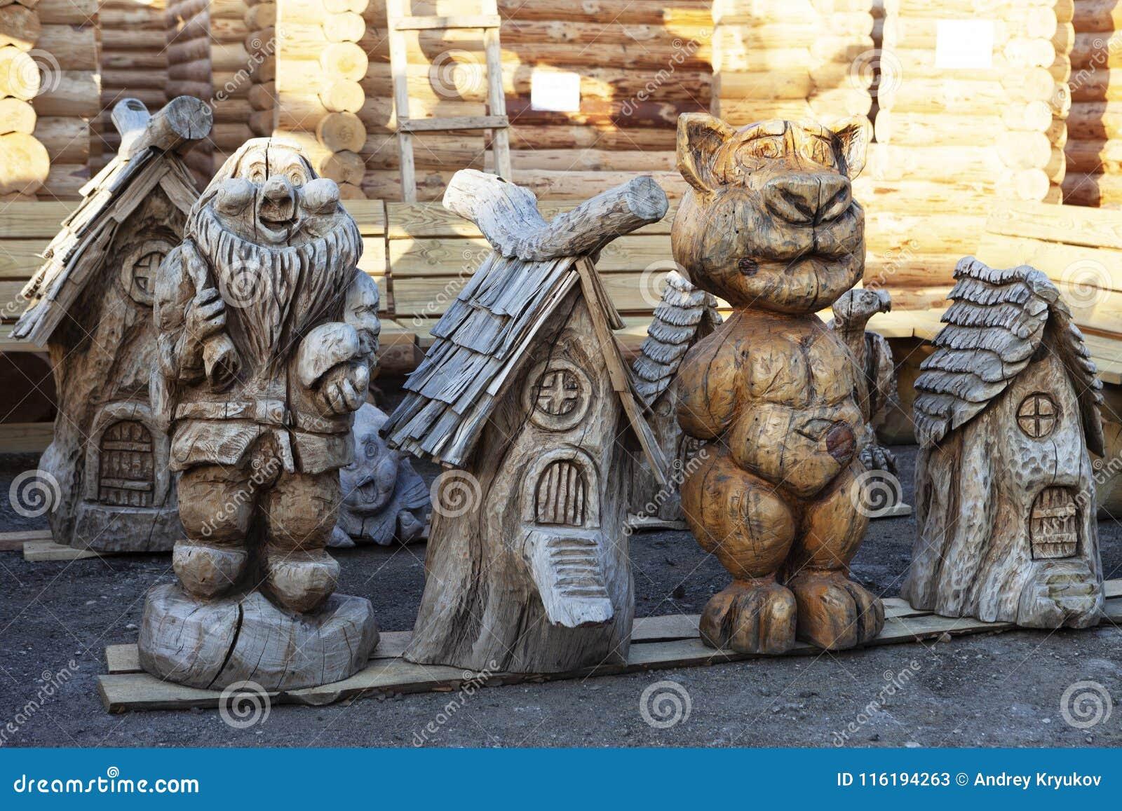 Skulpterar trä