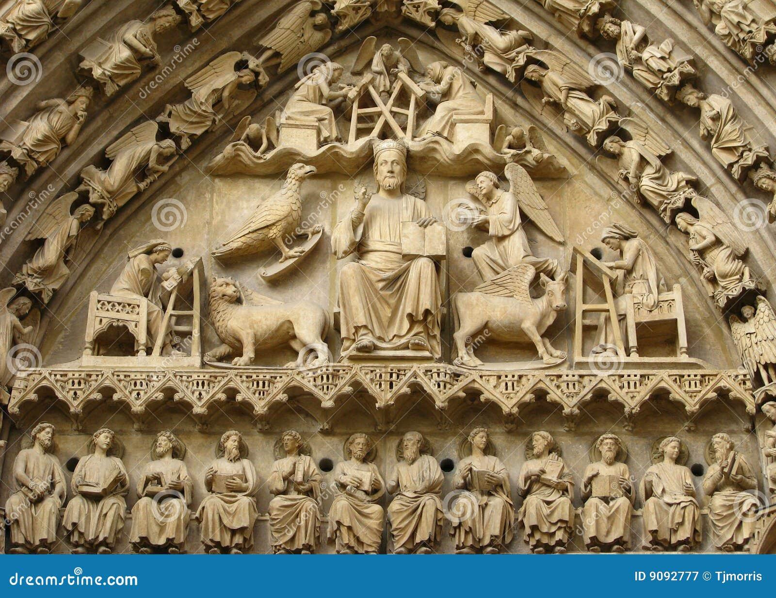 Skulptur des Jesus Christus