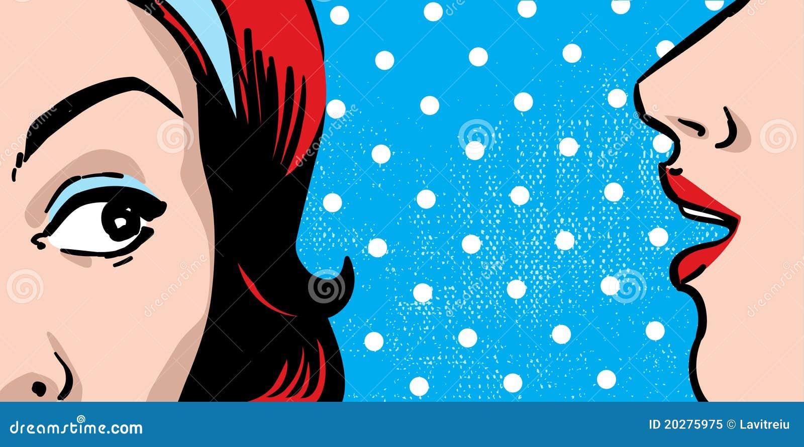 Skvallerkvinna