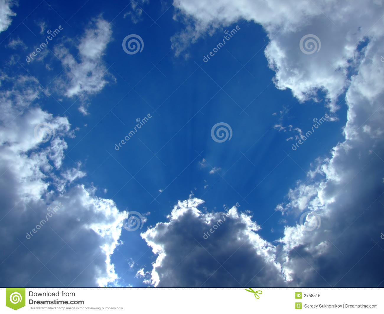 Sky background. sky and clouds