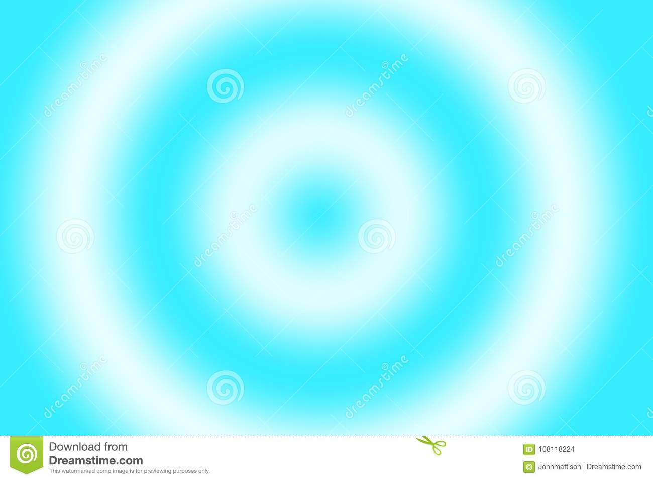 Sky Blue Hypnotizing Inspired Abstract Background Stock
