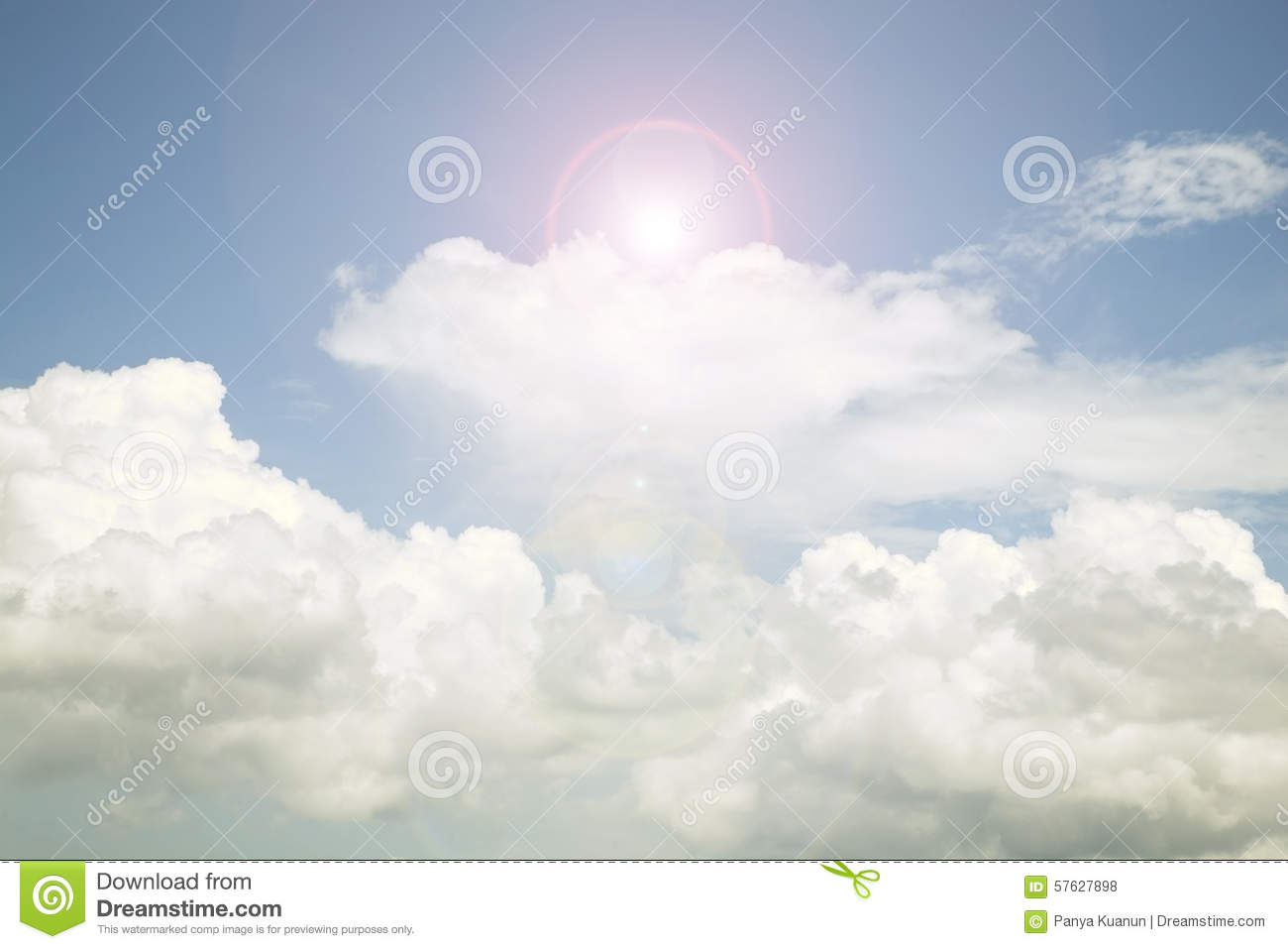 3D Weather Man With Cloud And Lightning. Thunderstorm Day ...