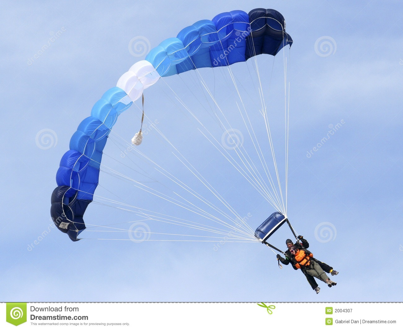 Sky Divers Royalty Free Stock Photography - Image: 2004307