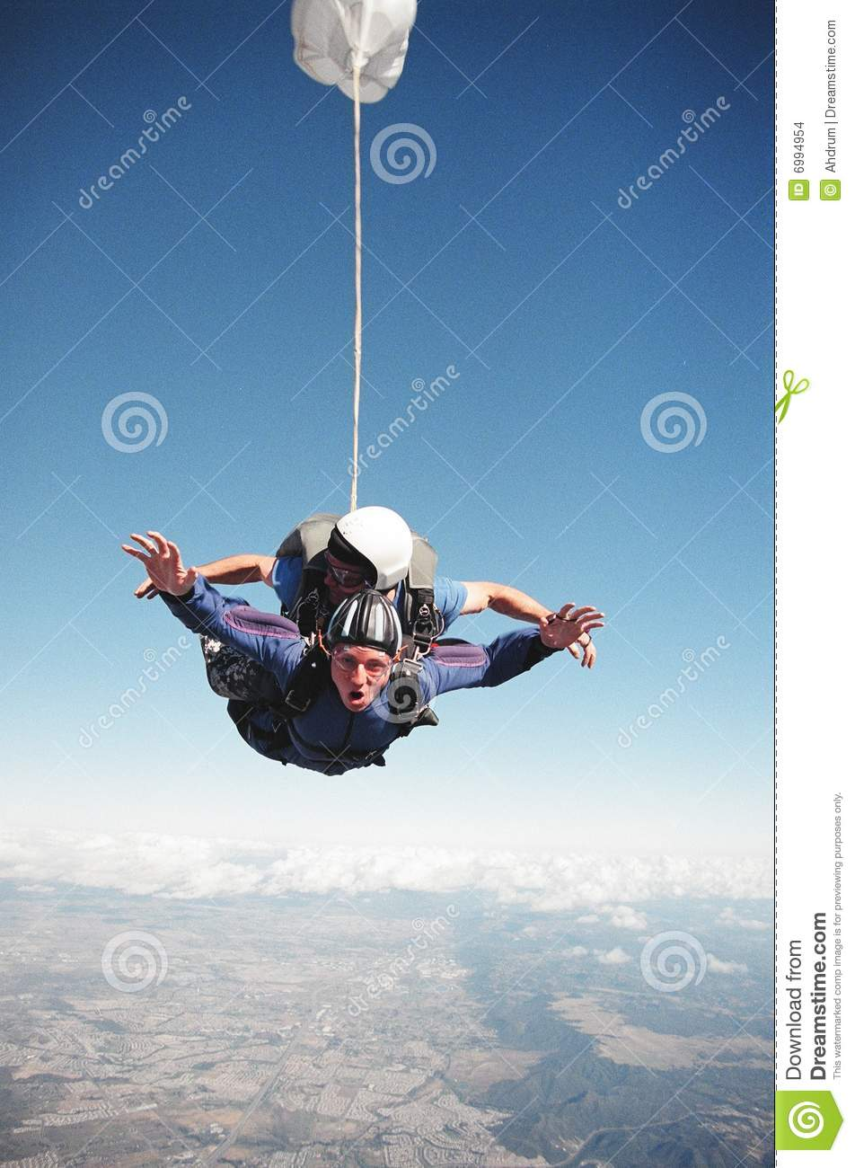 Sky Diving Thrill