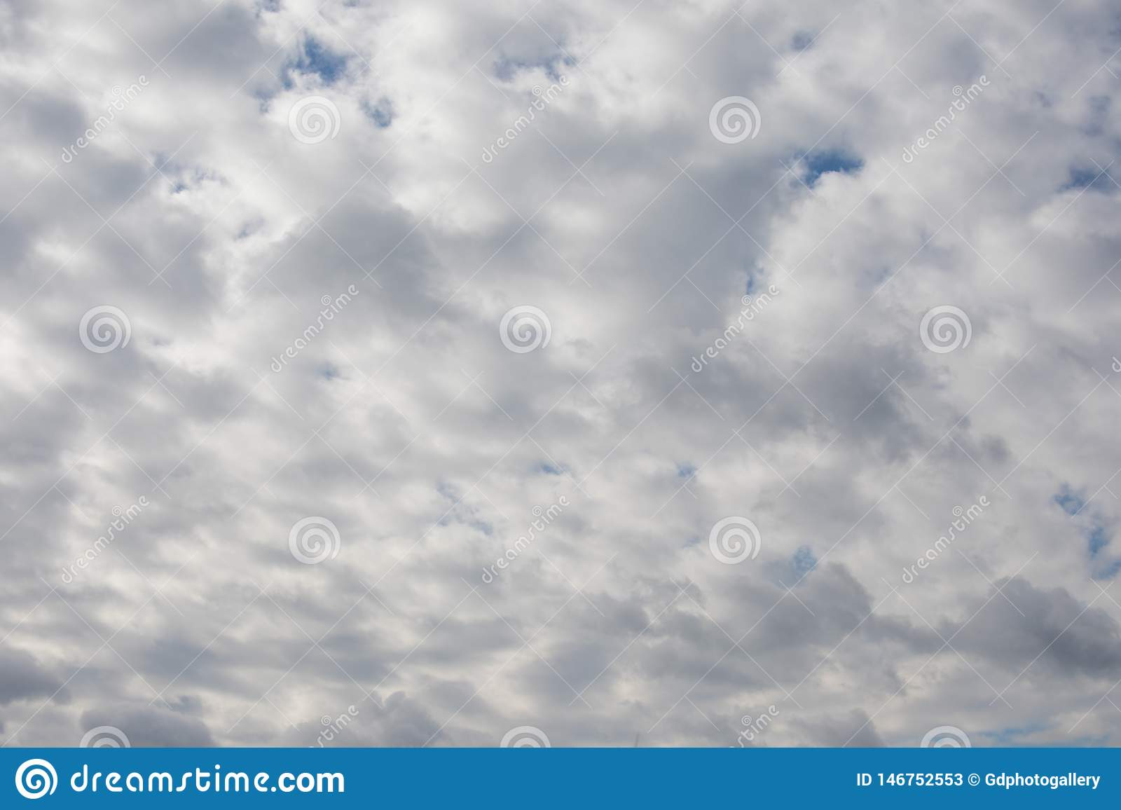 Dramatic cloudy sky, natural photo background