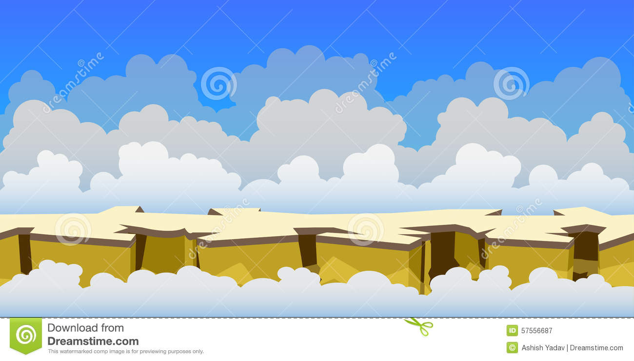 Sky game background stock illustration. Image of mist ...