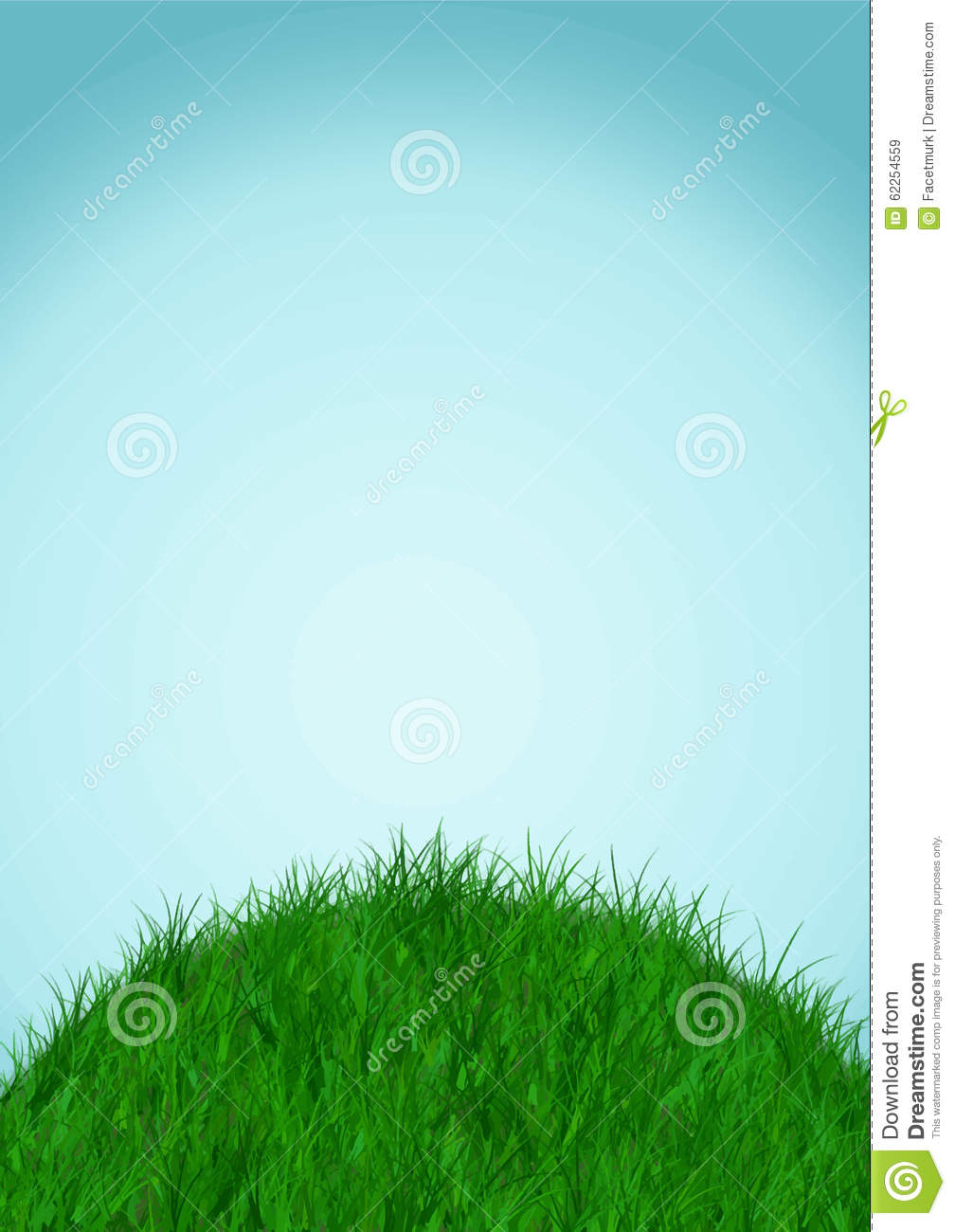 sky and ground background vector illustration stock vector