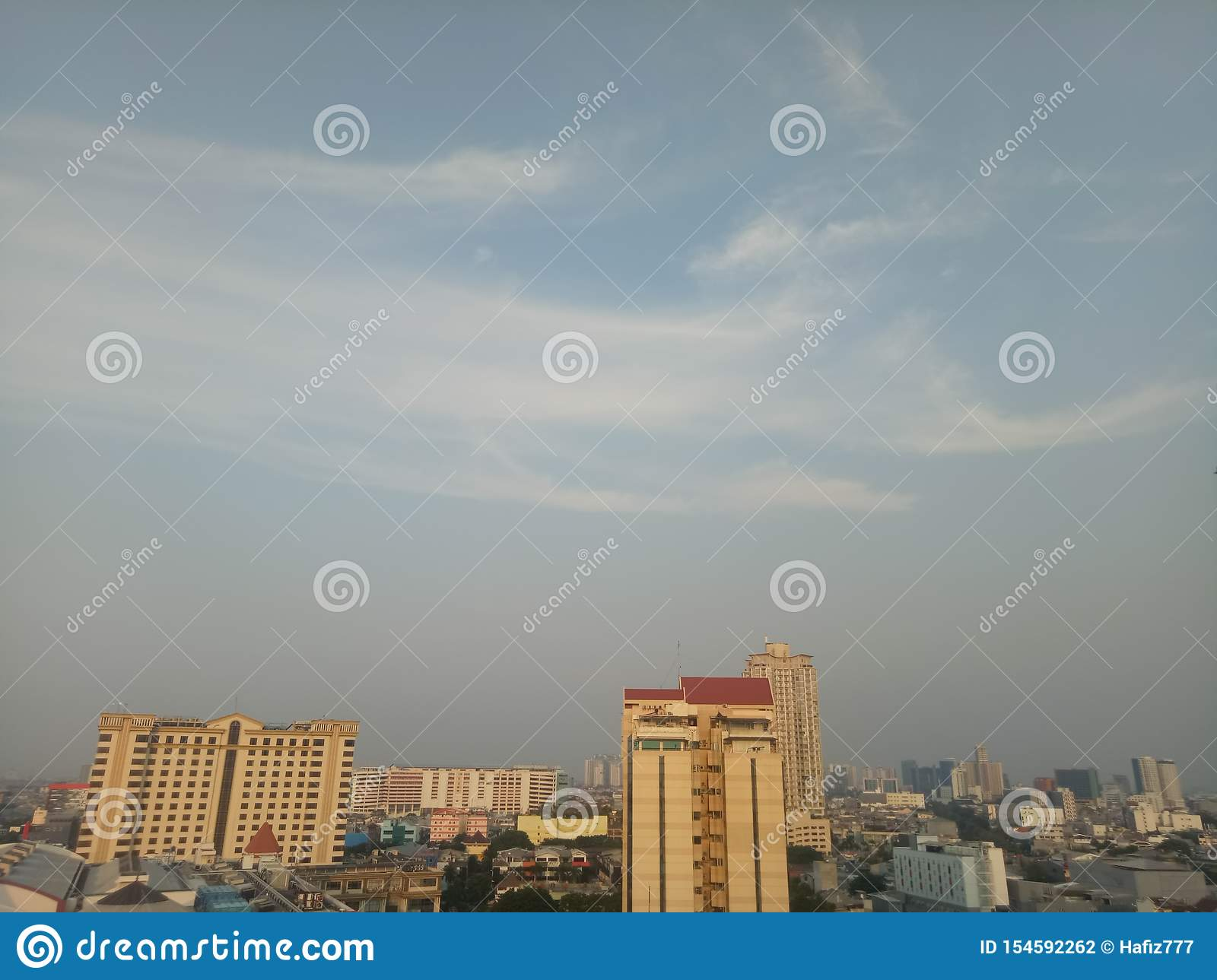 The sky jakarta are.... Building, outdoor and hotel