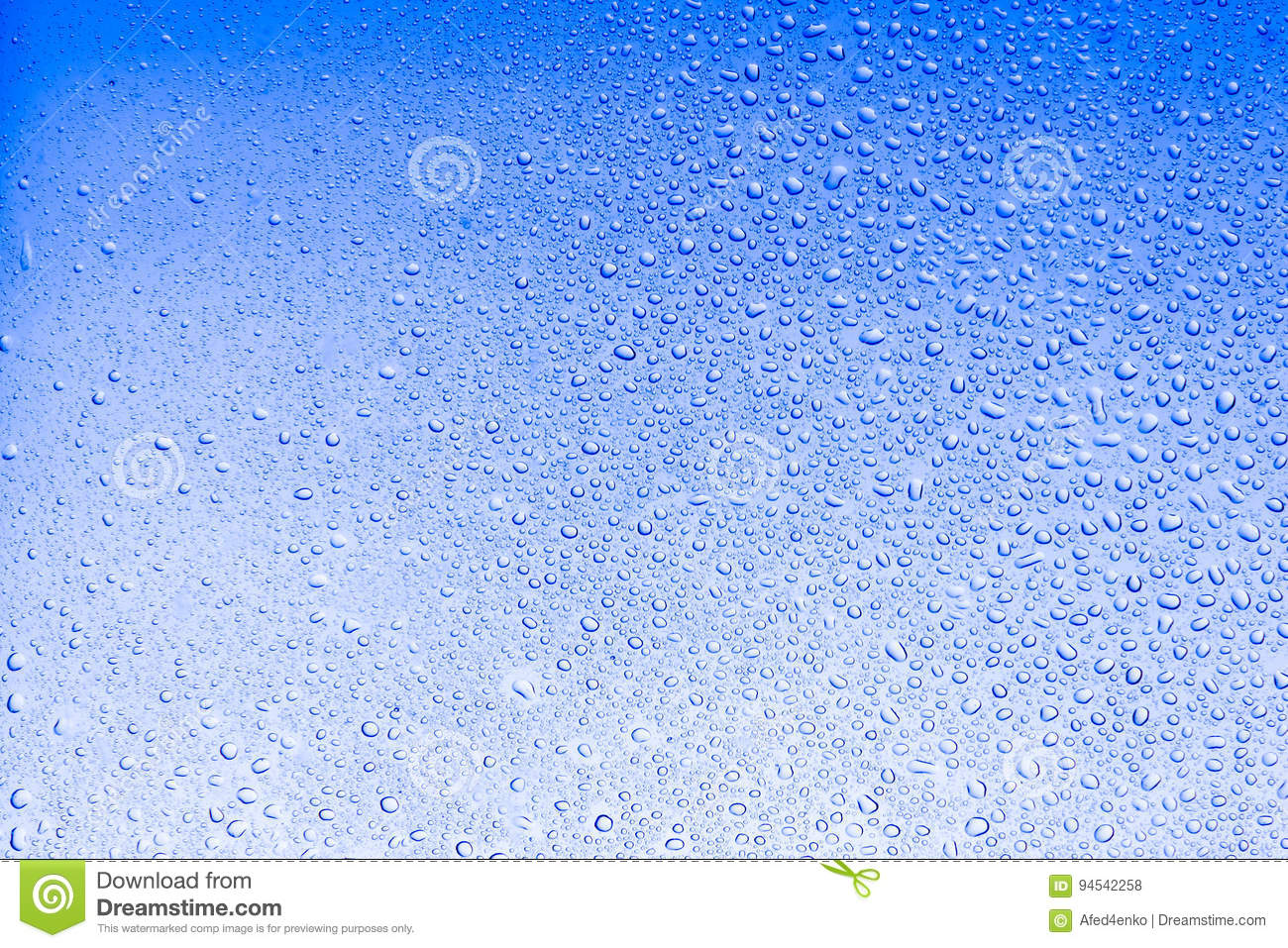 Download Sky Light Blue Color Water Drops Abstract Background Stock Photo - Image of surface, background: 94542258