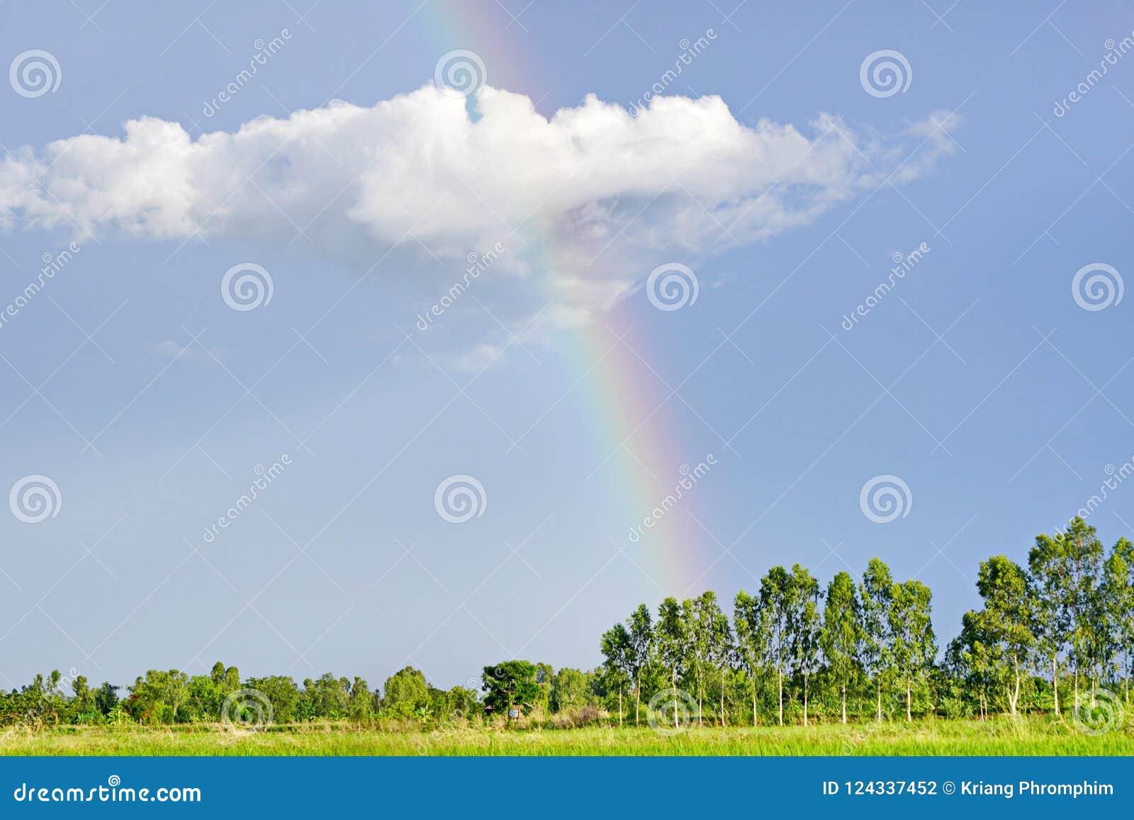 Sky with Rainbow