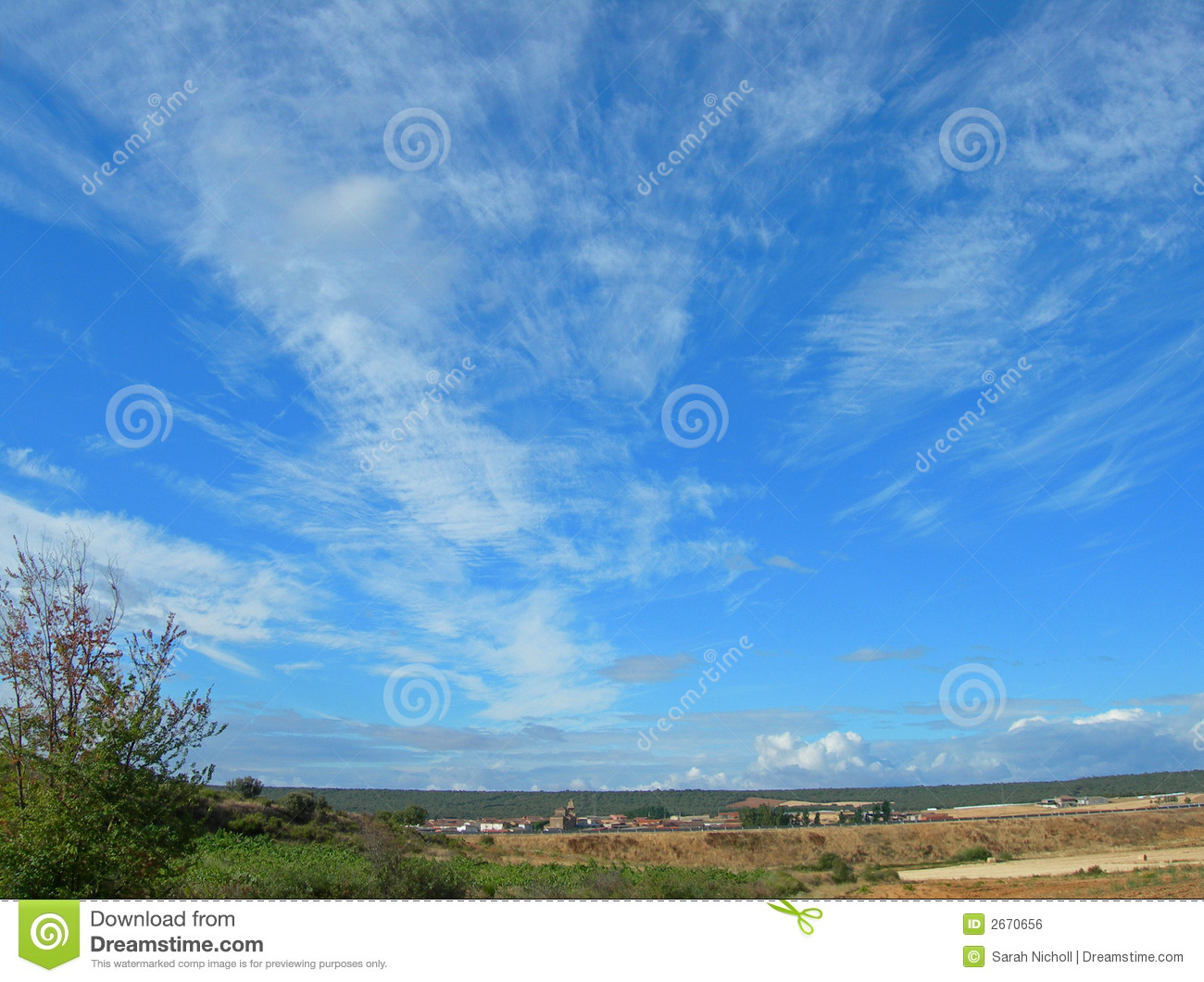 Skys The Limit Stock Photo Image Of Grass Panoramic 2670656