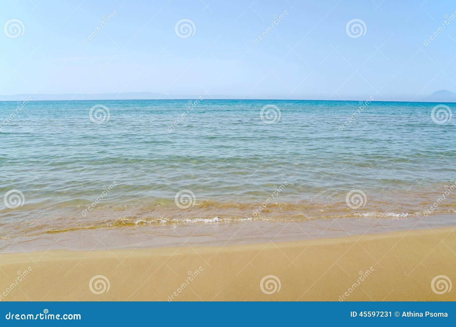 Sky, sea and sand