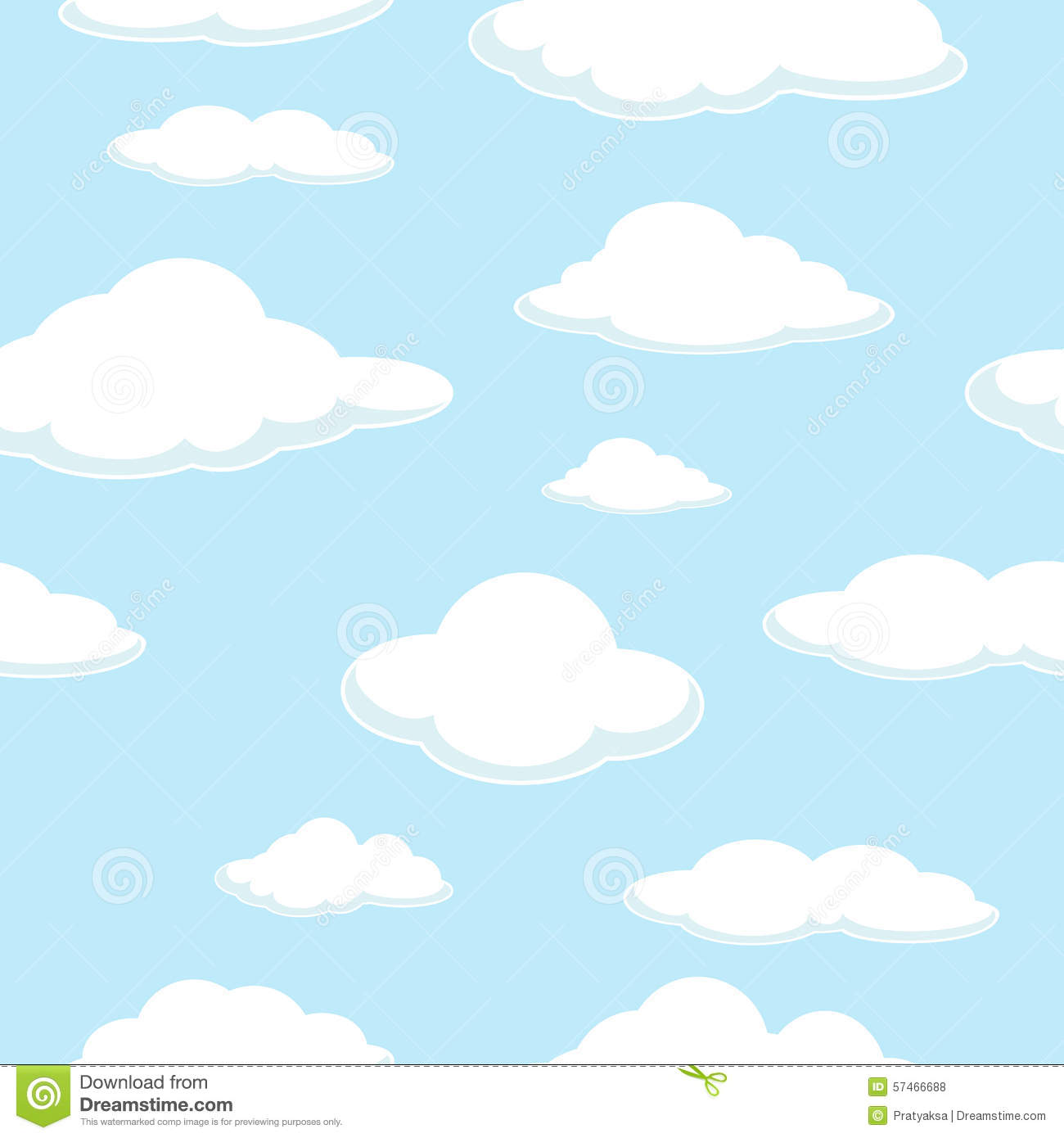 Sky Seamless Background Cloud Seamless Background Good