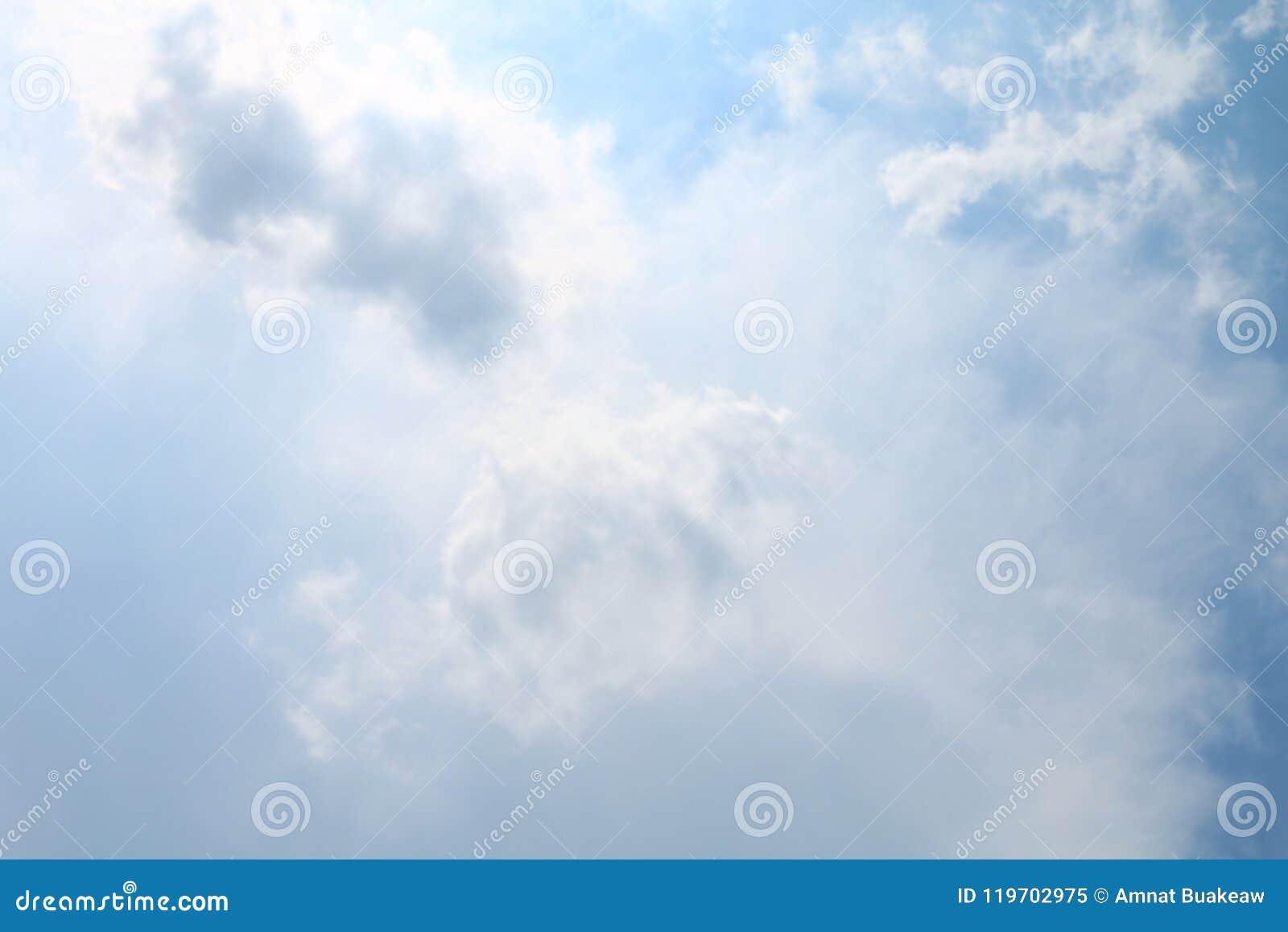 Sky, Soft Blue Sky Clear, Beautiful blue white sky fluffy clouds