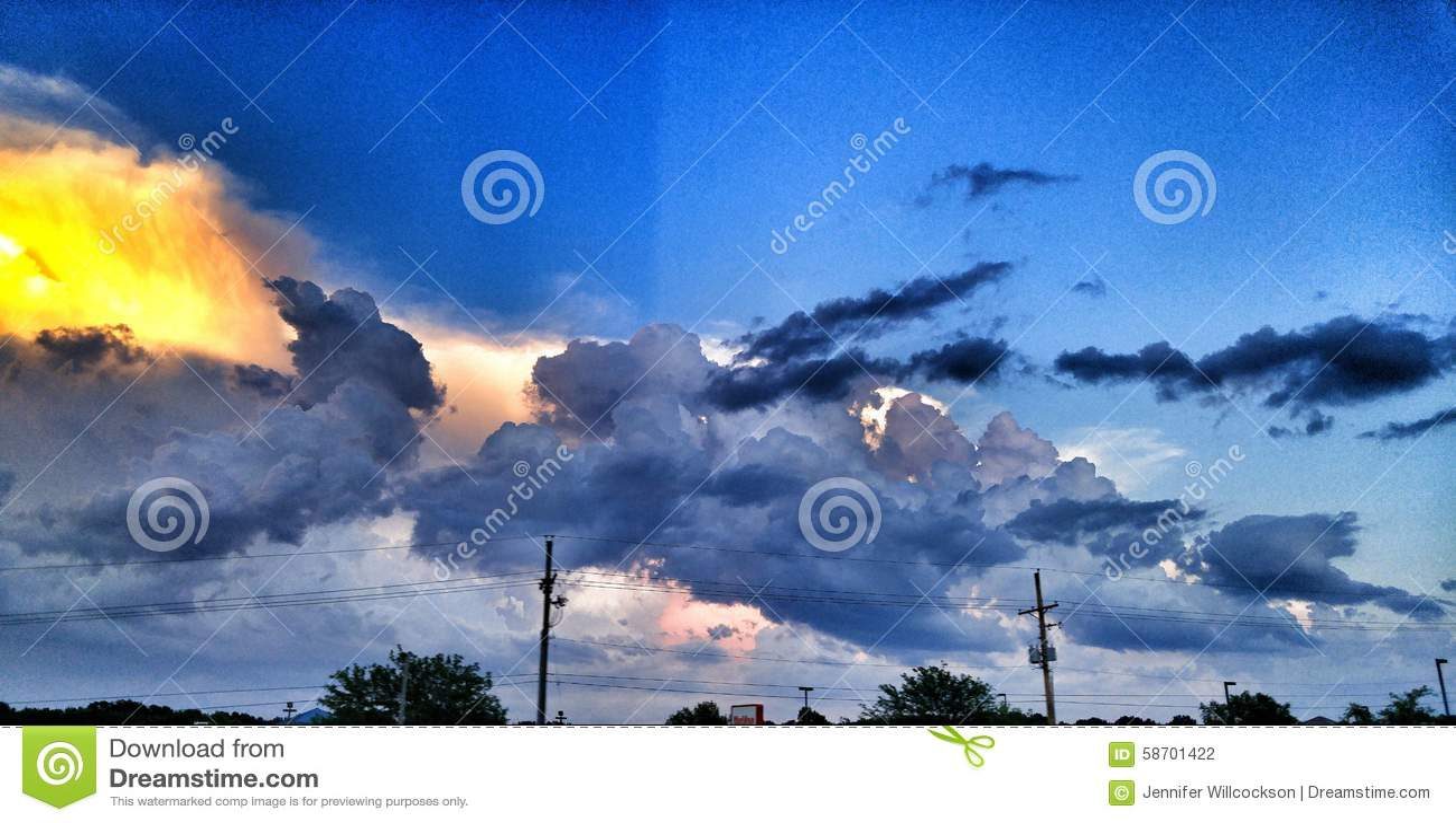 Casino blue sky split