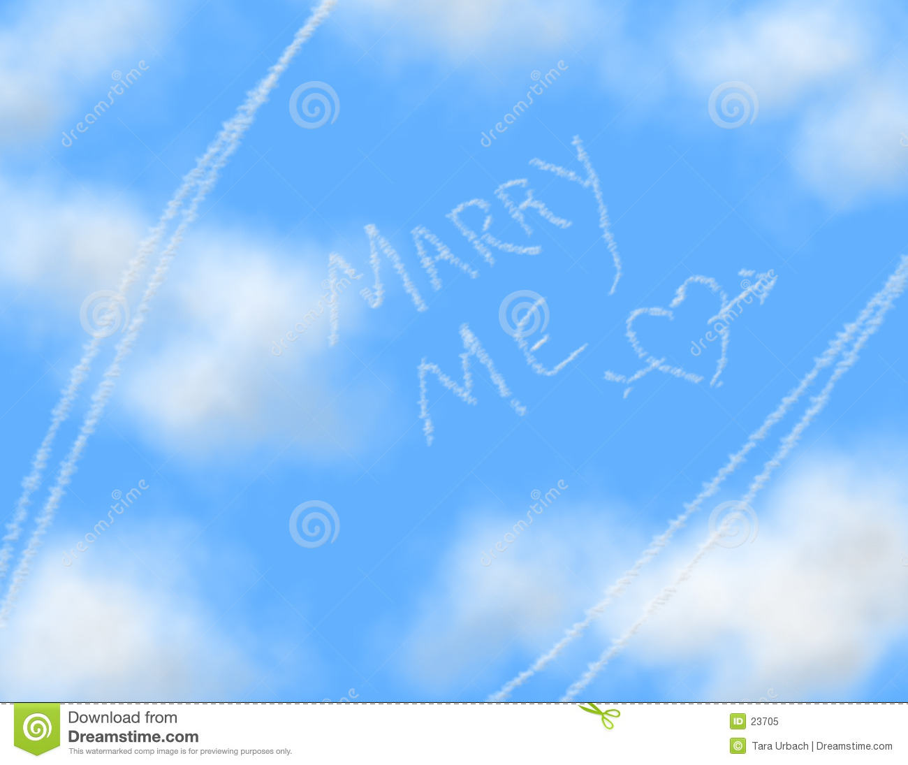 Sky Writing - MARRY ME
