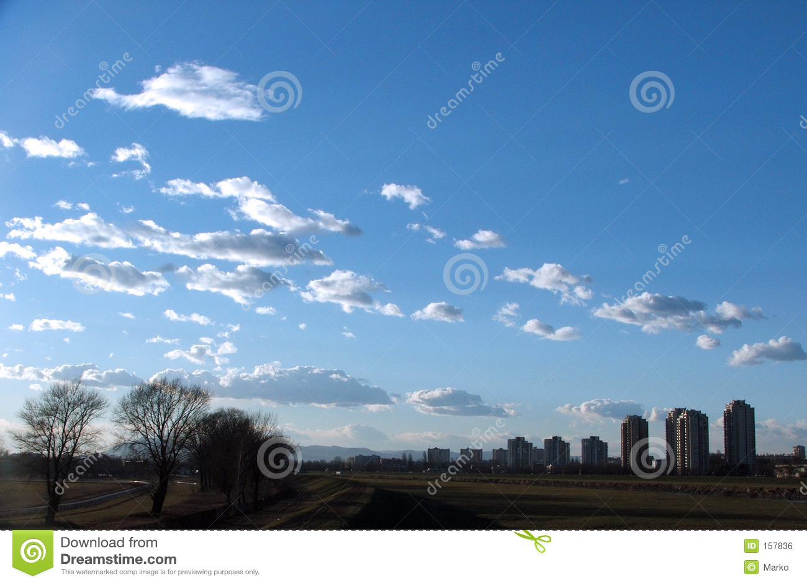Sky in Zagreb
