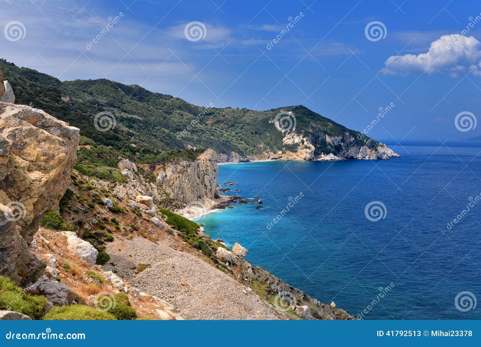 Skyathos Grecia