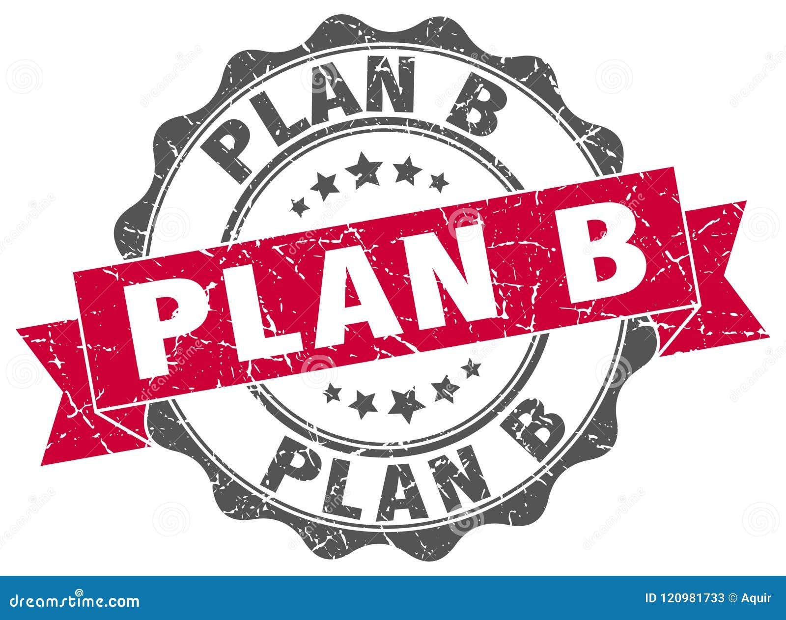 Skyddsremsa för plan b stämpel
