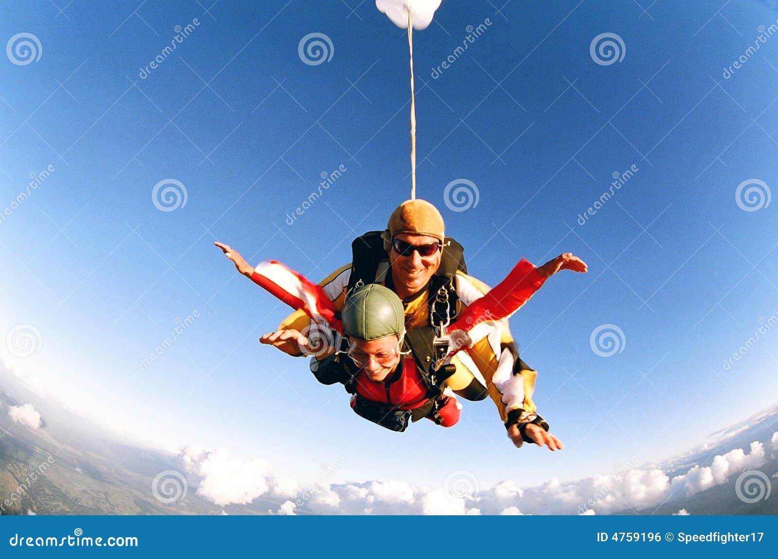 Skydive em tandem